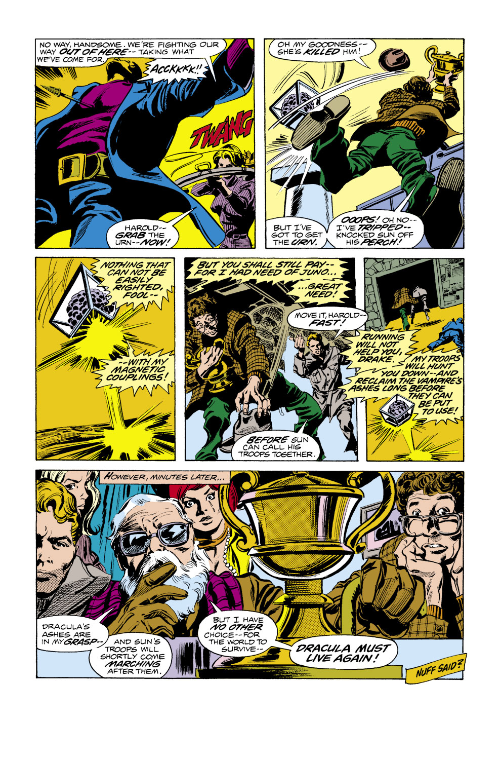 Tomb of Dracula (1972) issue 40 - Page 19