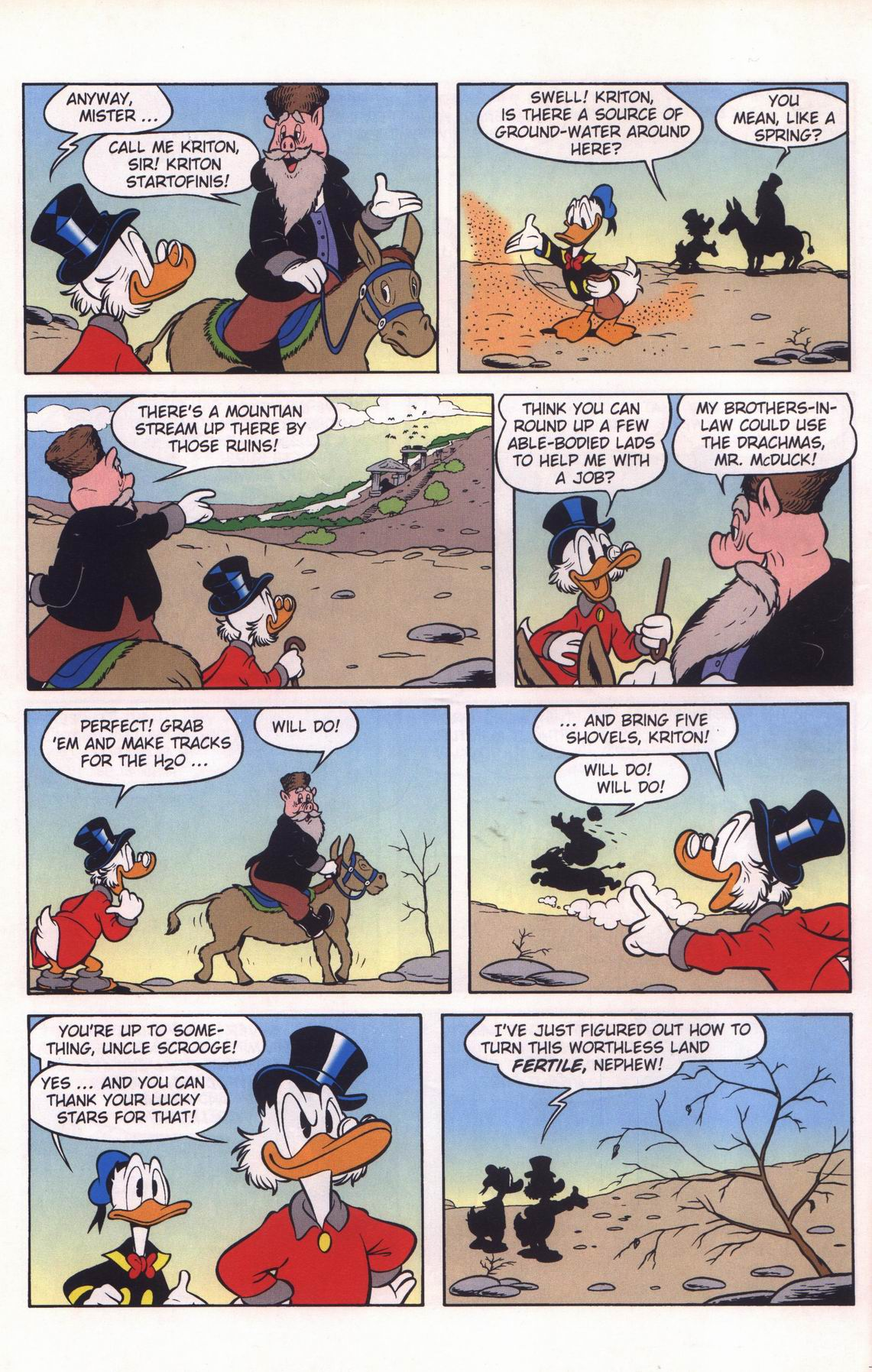 Read online Uncle Scrooge (1953) comic -  Issue #312 - 10