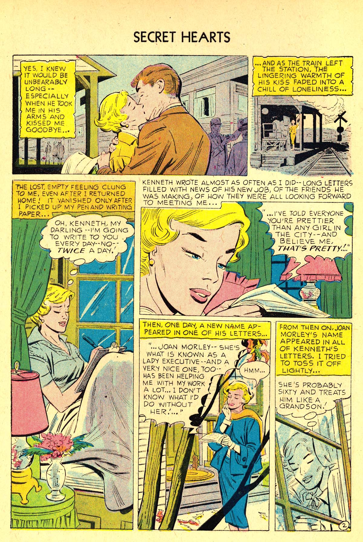 Read online Secret Hearts comic -  Issue #37 - 4