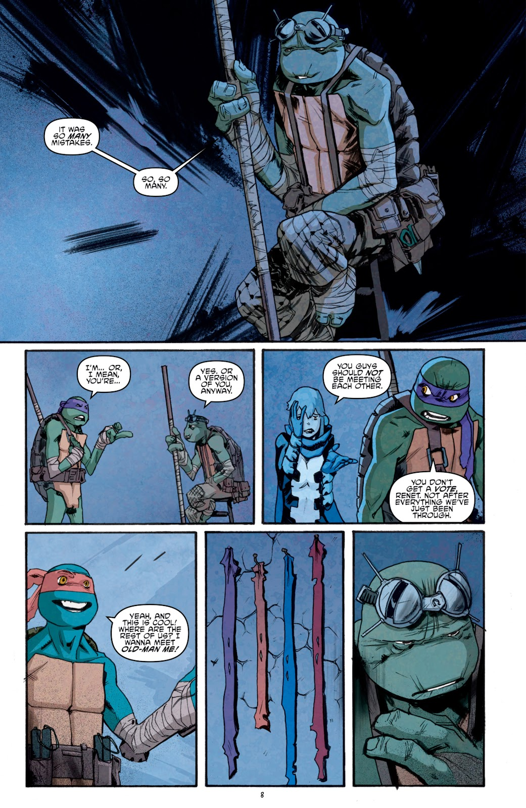 Read online Teenage Mutant Ninja Turtles: The IDW Collection comic -  Issue # TPB 5 (Part 1) - 83