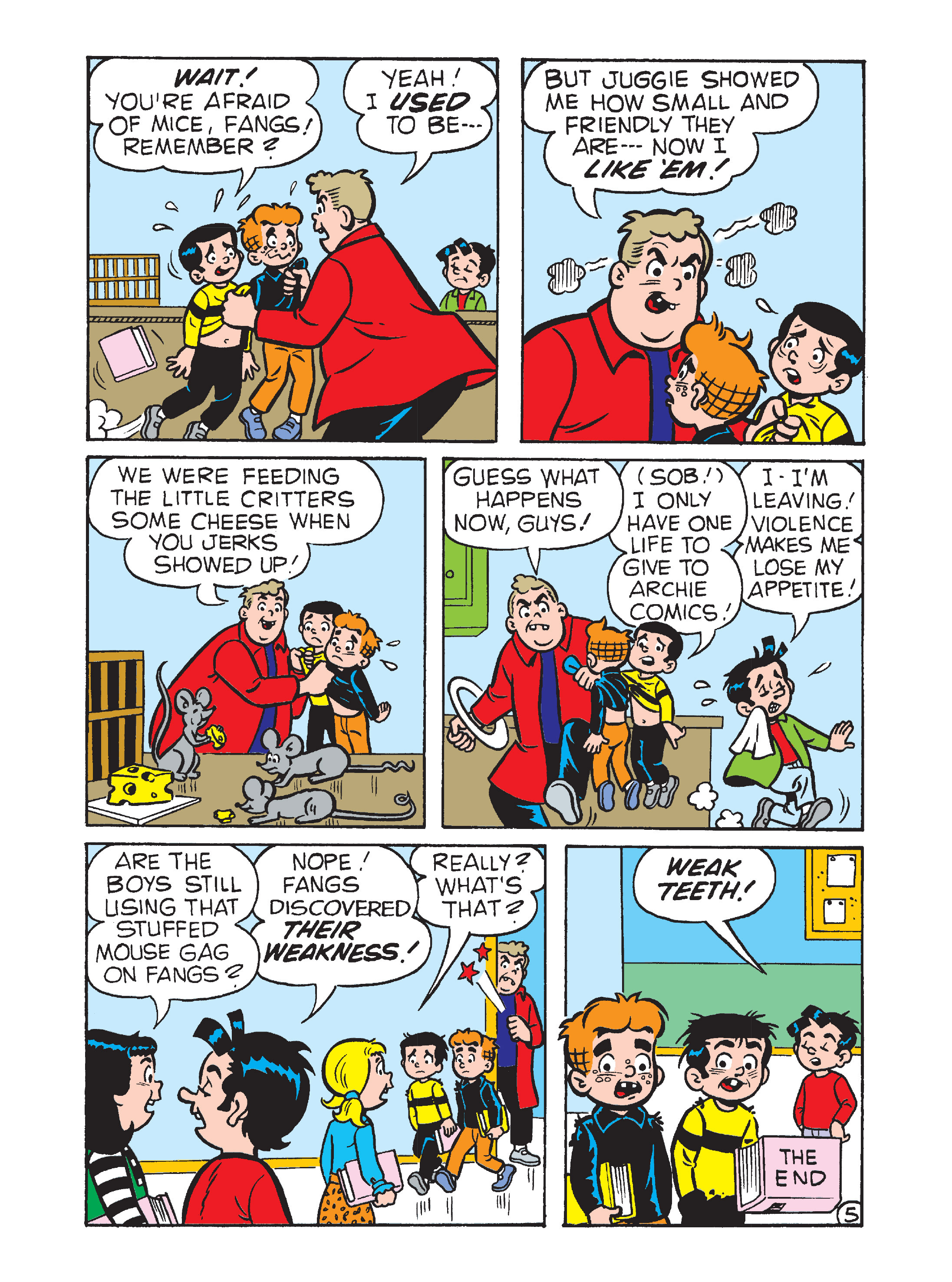 Read online Archie's Funhouse Double Digest comic -  Issue #1 - 136