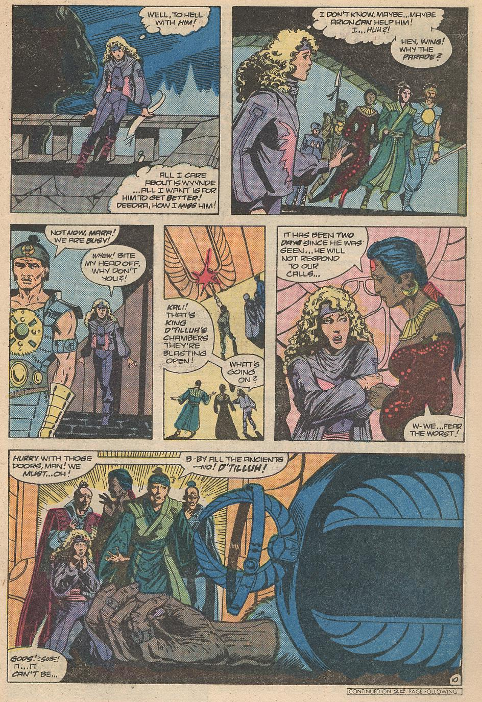 Read online Arion, Lord of Atlantis comic -  Issue #31 - 11