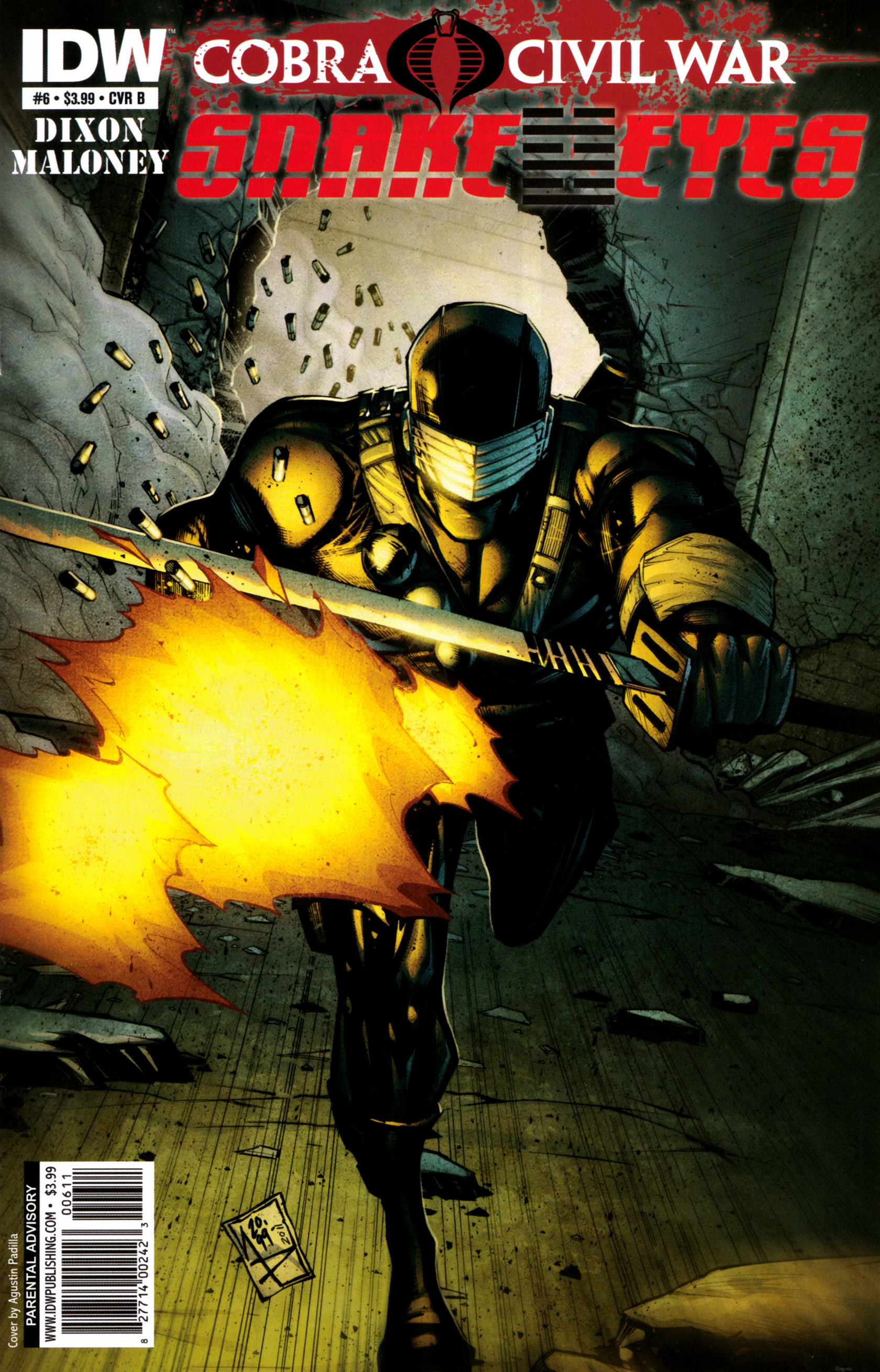 Read online G.I. Joe: Snake Eyes comic -  Issue #6 - 2