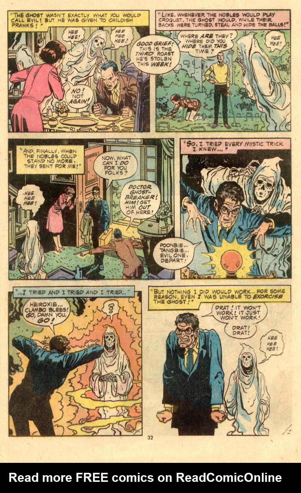 Read online Plop! comic -  Issue #6 - 33