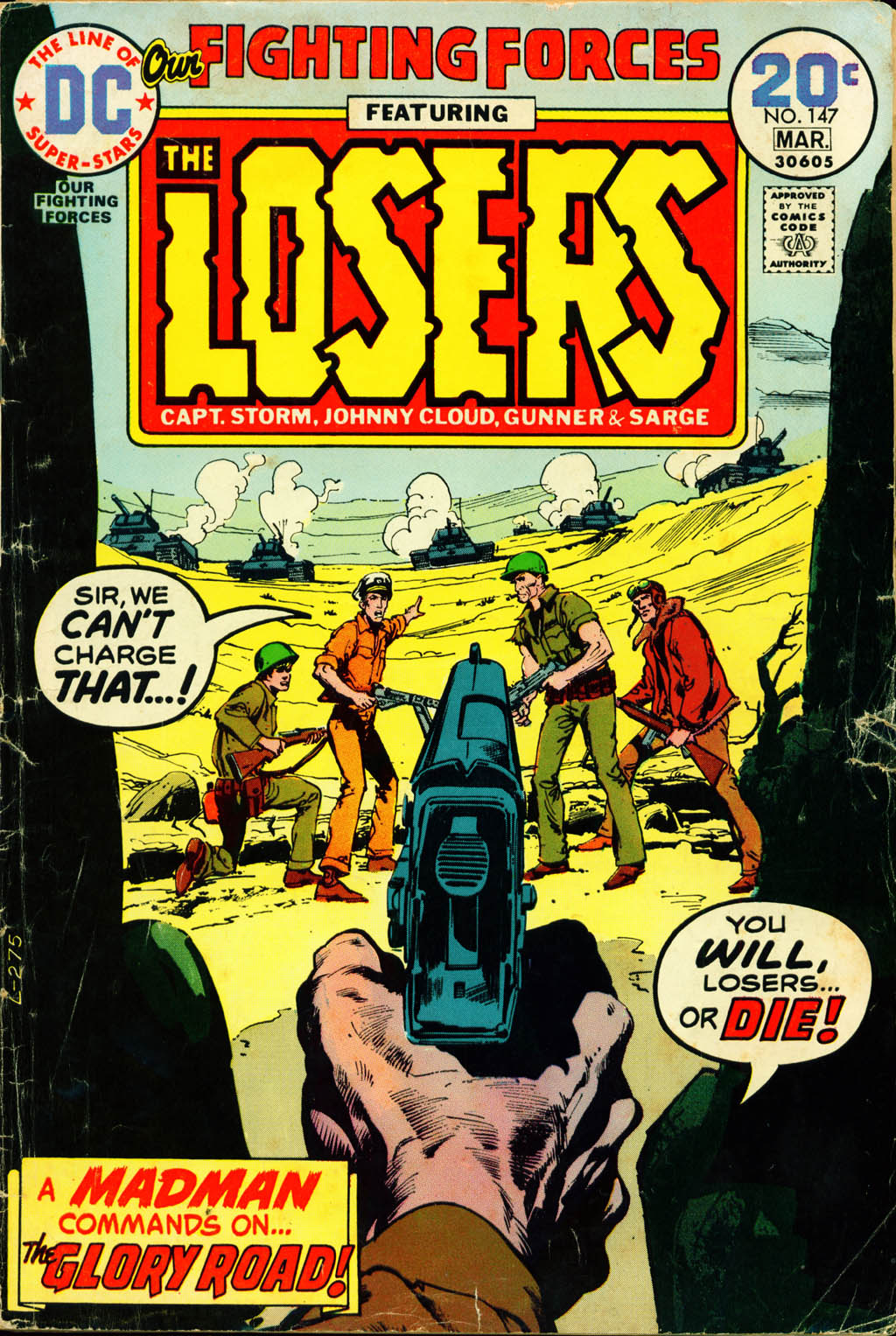 Our Fighting Forces (1954) issue 147 - Page 1