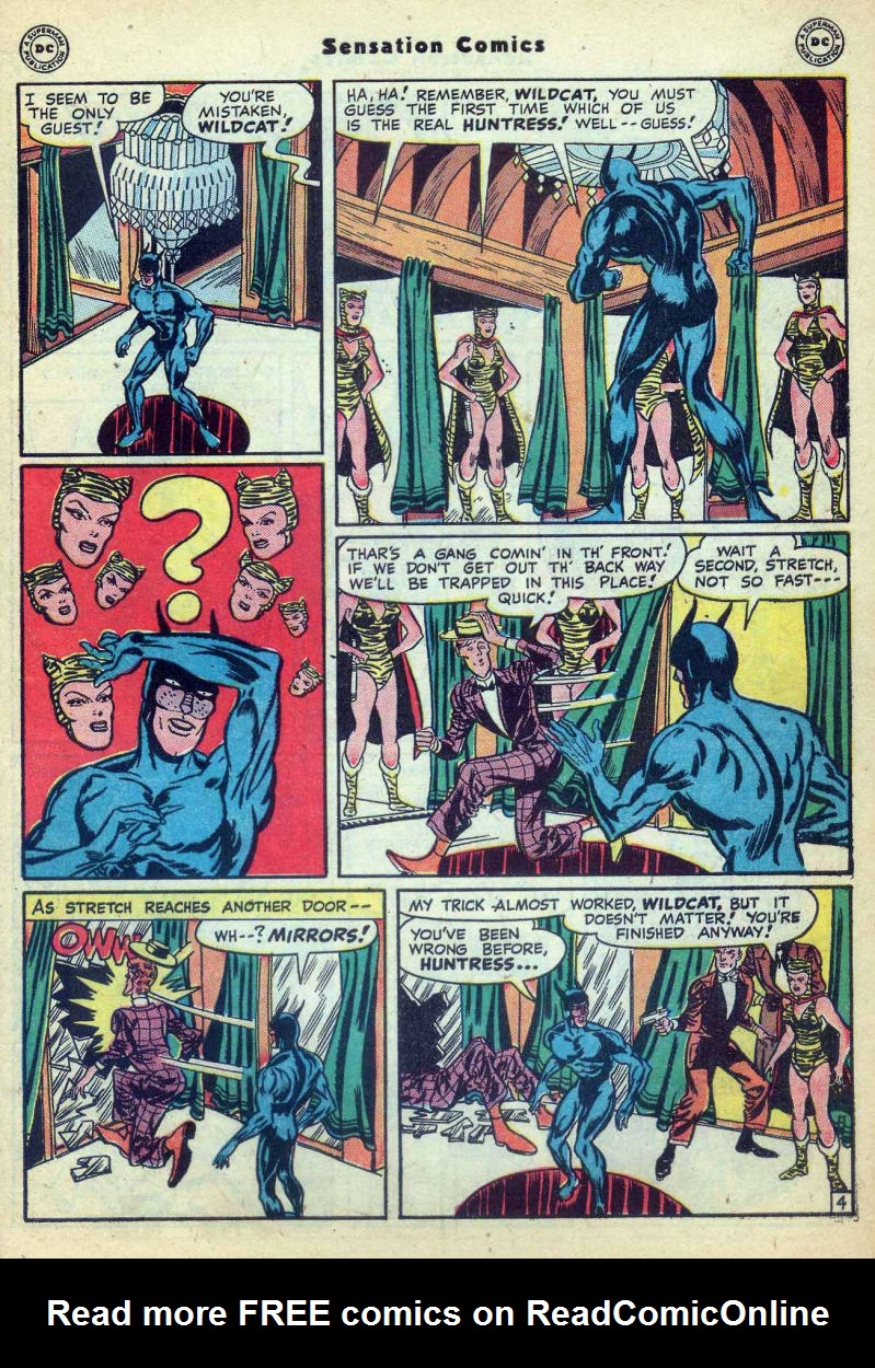 Read online Sensation (Mystery) Comics comic -  Issue #73 - 45