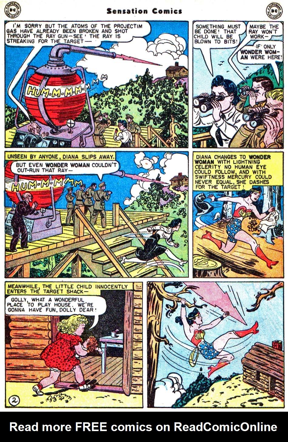 Read online Sensation (Mystery) Comics comic -  Issue #54 - 5