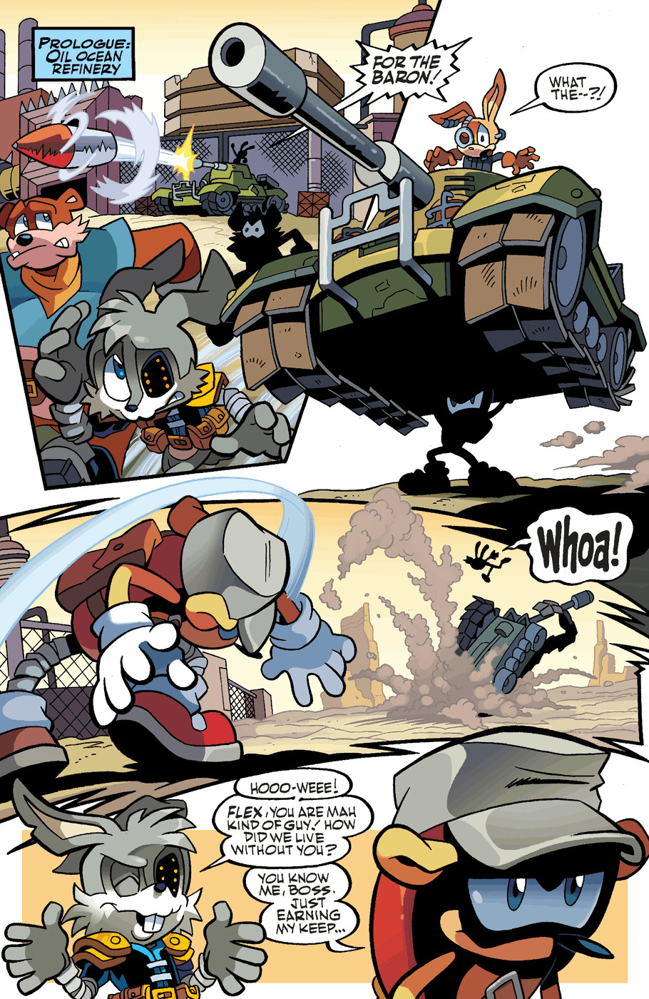 Read online Sonic Universe comic -  Issue #47 - 3