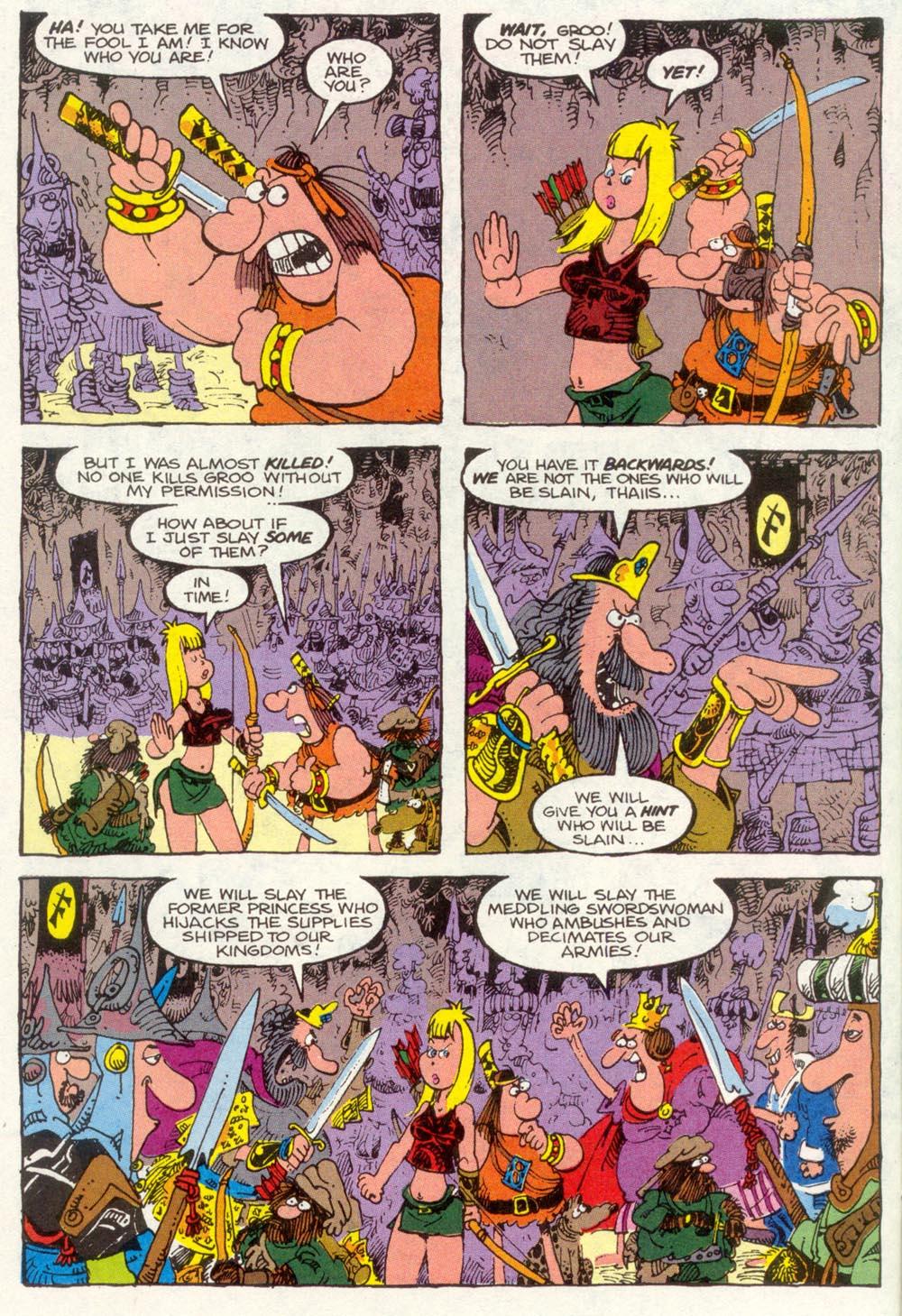 Read online Sergio Aragonés Groo the Wanderer comic -  Issue #83 - 4