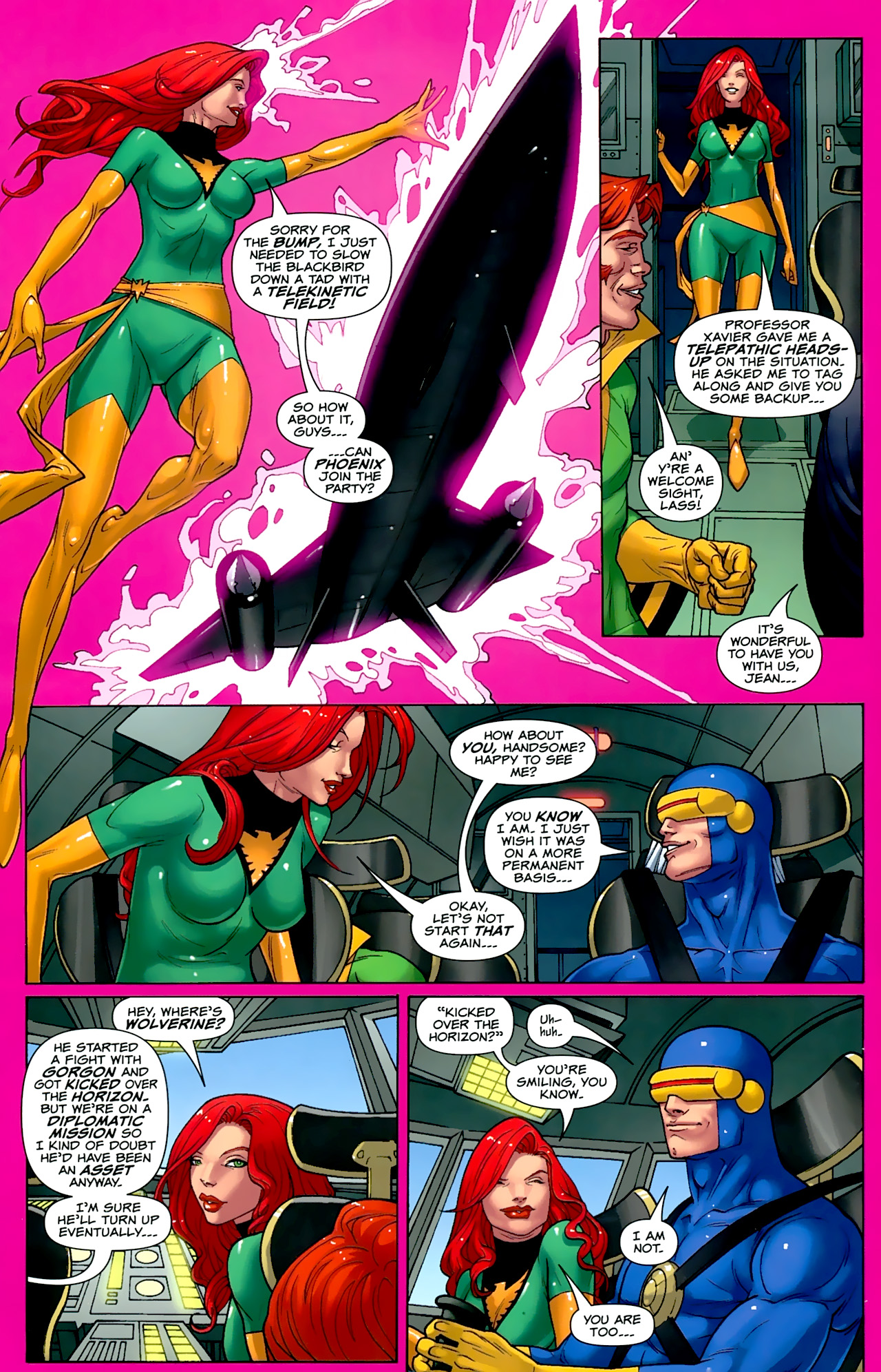 Read online Uncanny X-Men: First Class comic -  Issue #2 - 8
