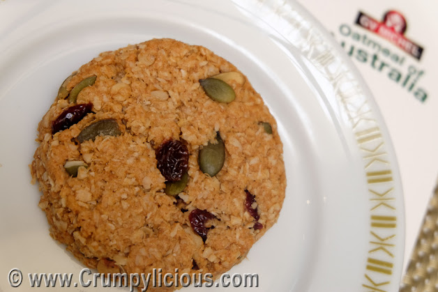 healthy and hearty oatmeal cookie