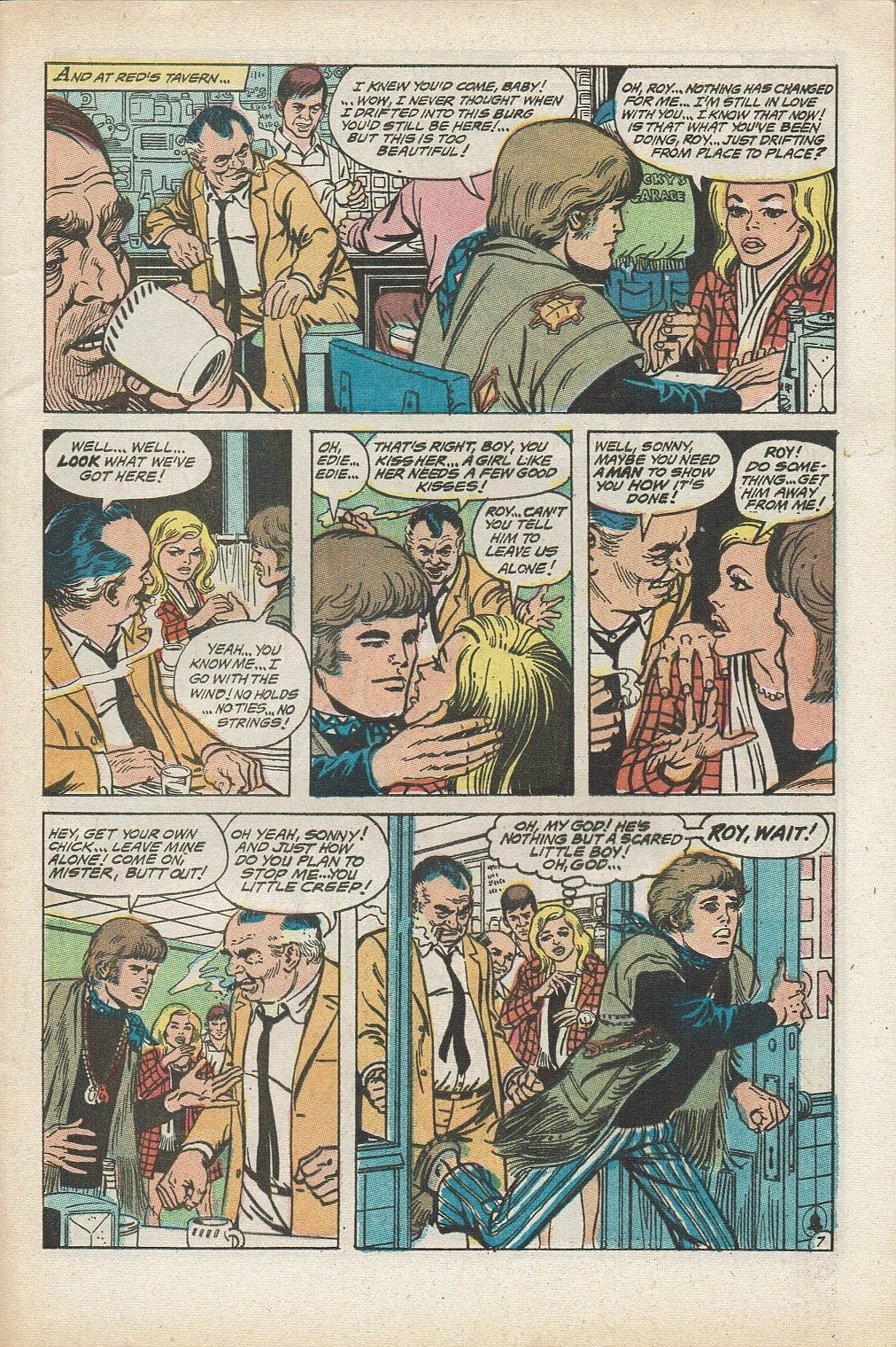 Read online Secret Hearts comic -  Issue #153 - 9
