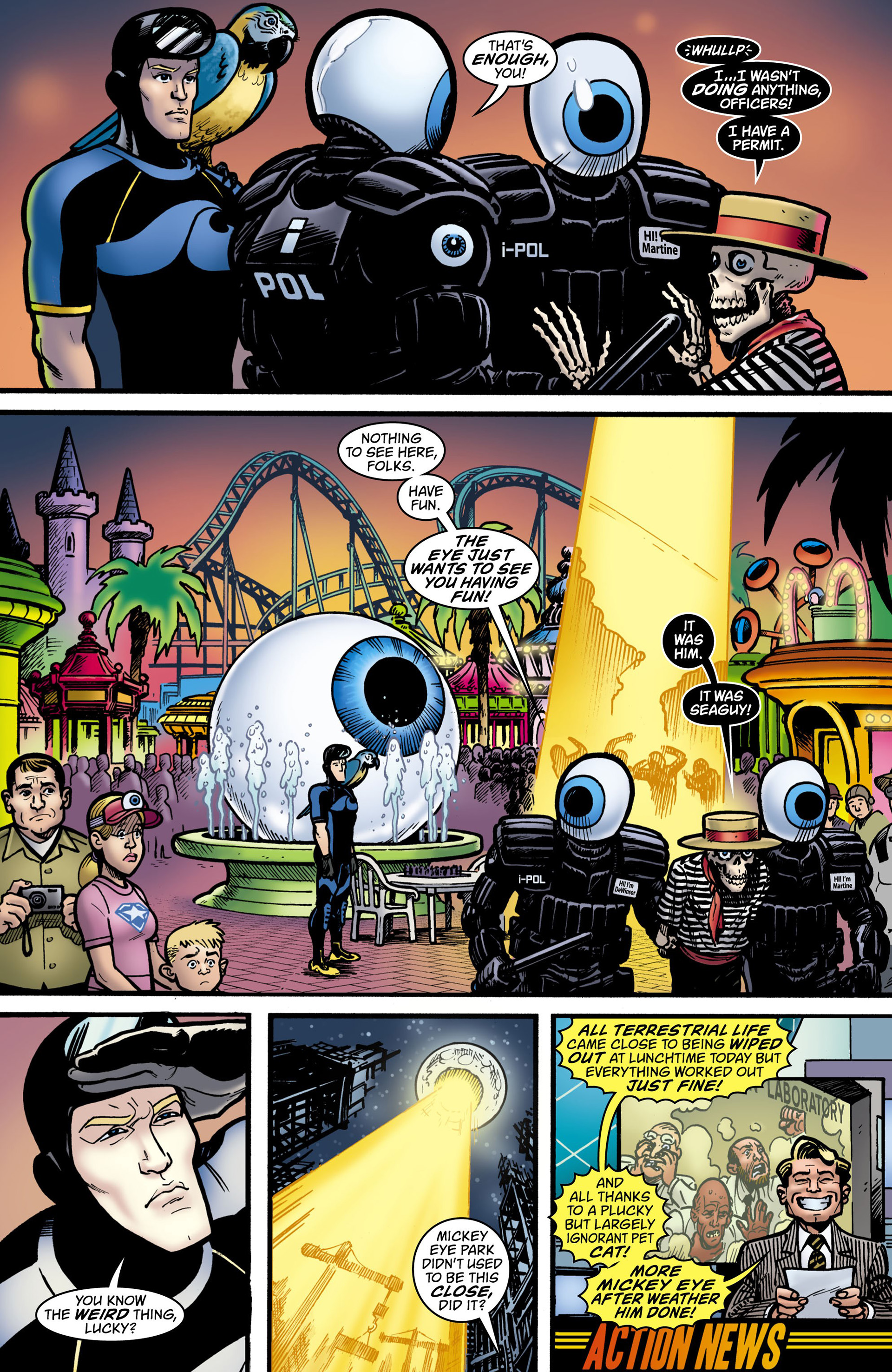 Read online Seaguy: The Slaves of Mickey Eye comic -  Issue #1 - 12