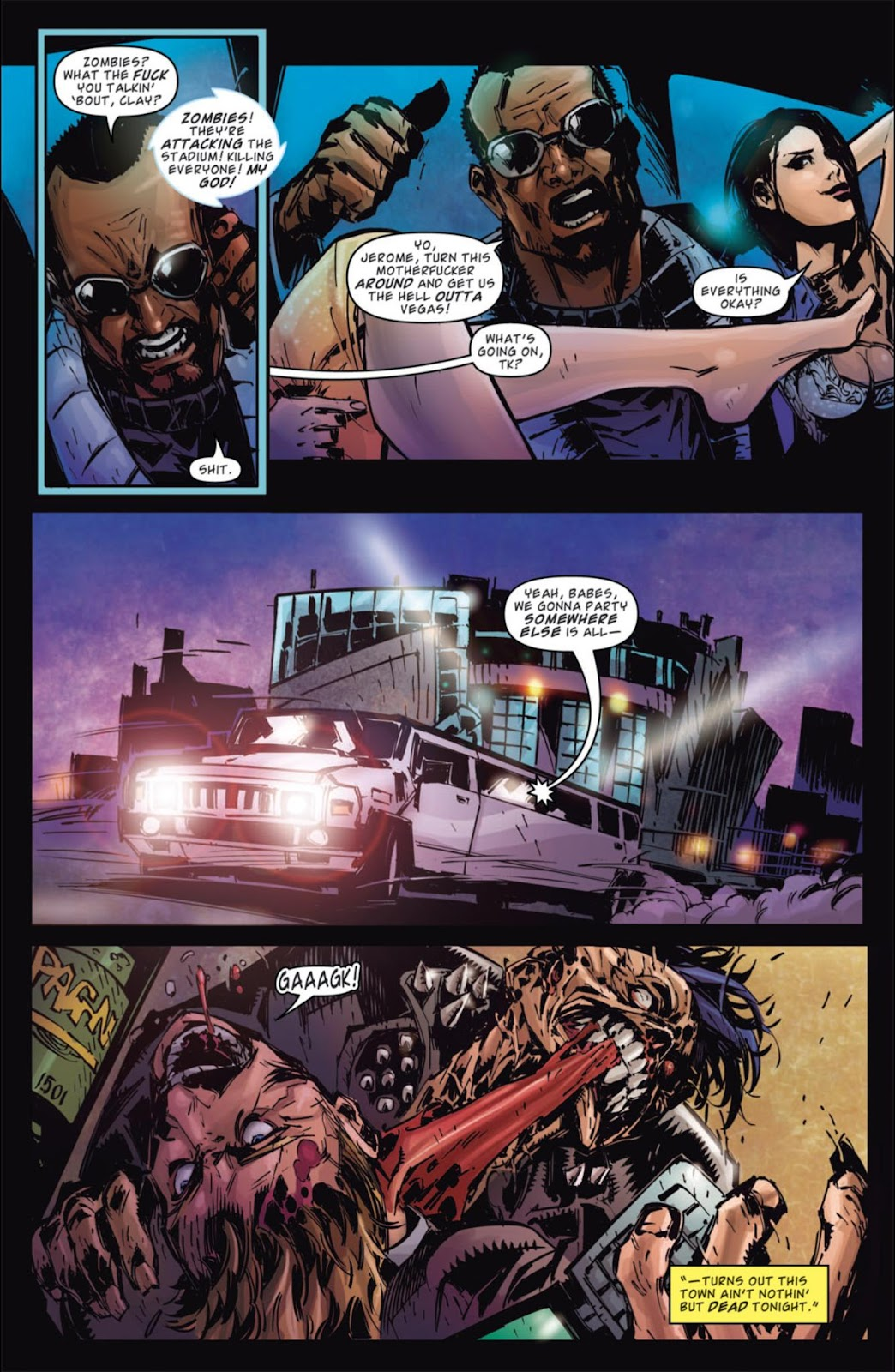 Read online Dead Rising: Road to Fortune comic -  Issue #3 - 14