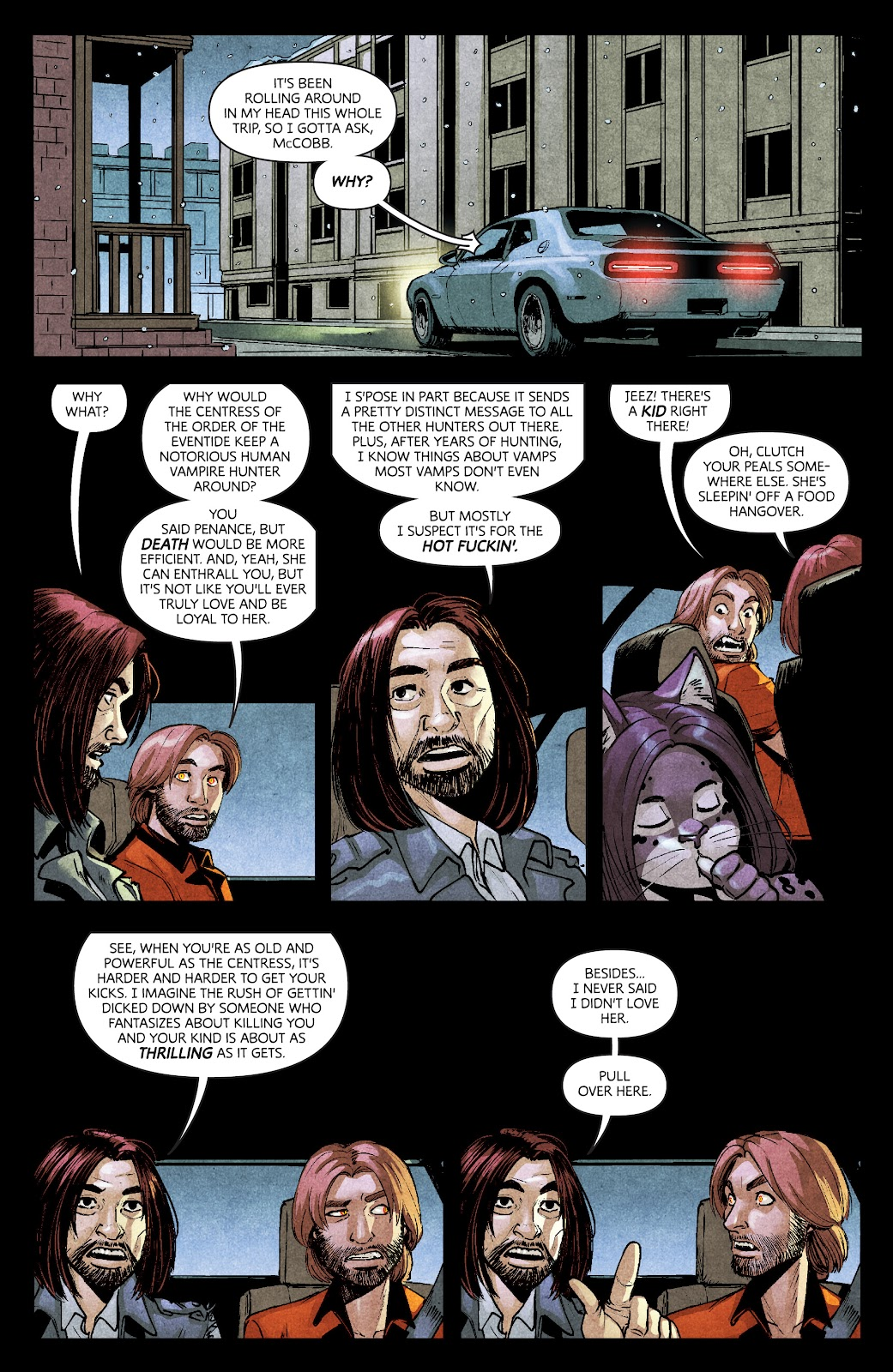 Read online Dark Red comic -  Issue #7 - 16