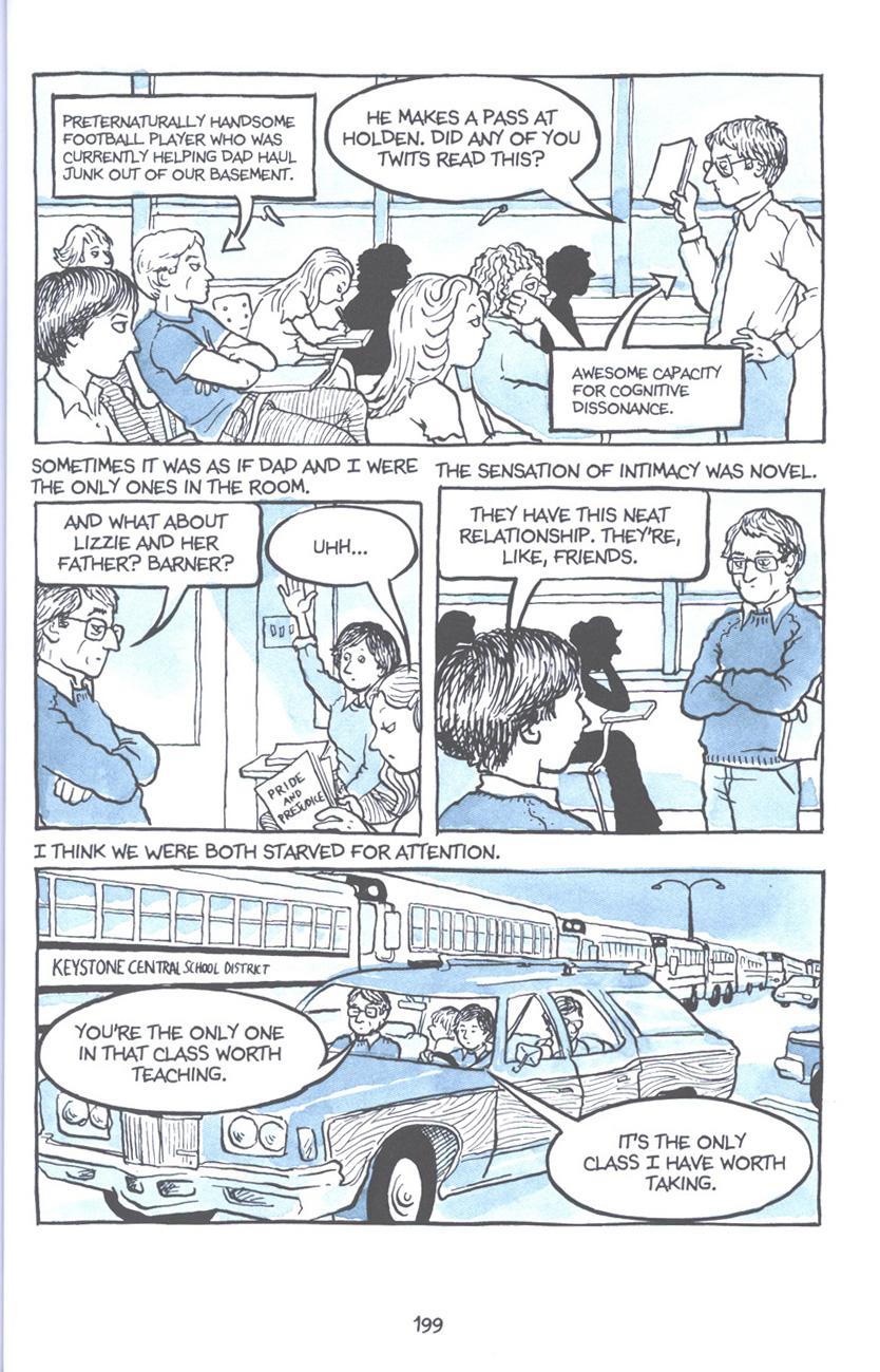 Read online Fun Home: A Family Tragicomic comic -  Issue # TPB - 205