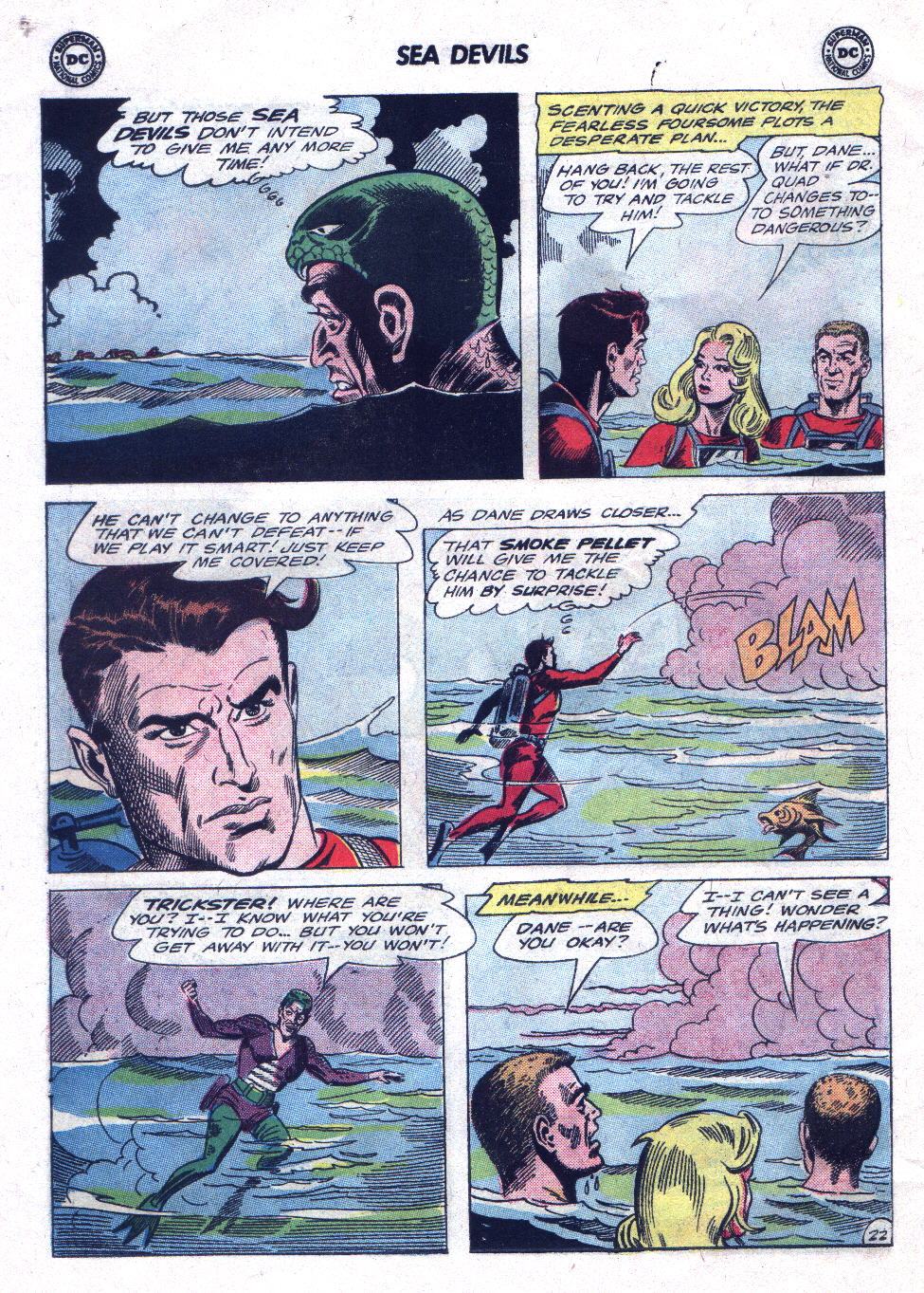Read online Sea Devils comic -  Issue #21 - 30