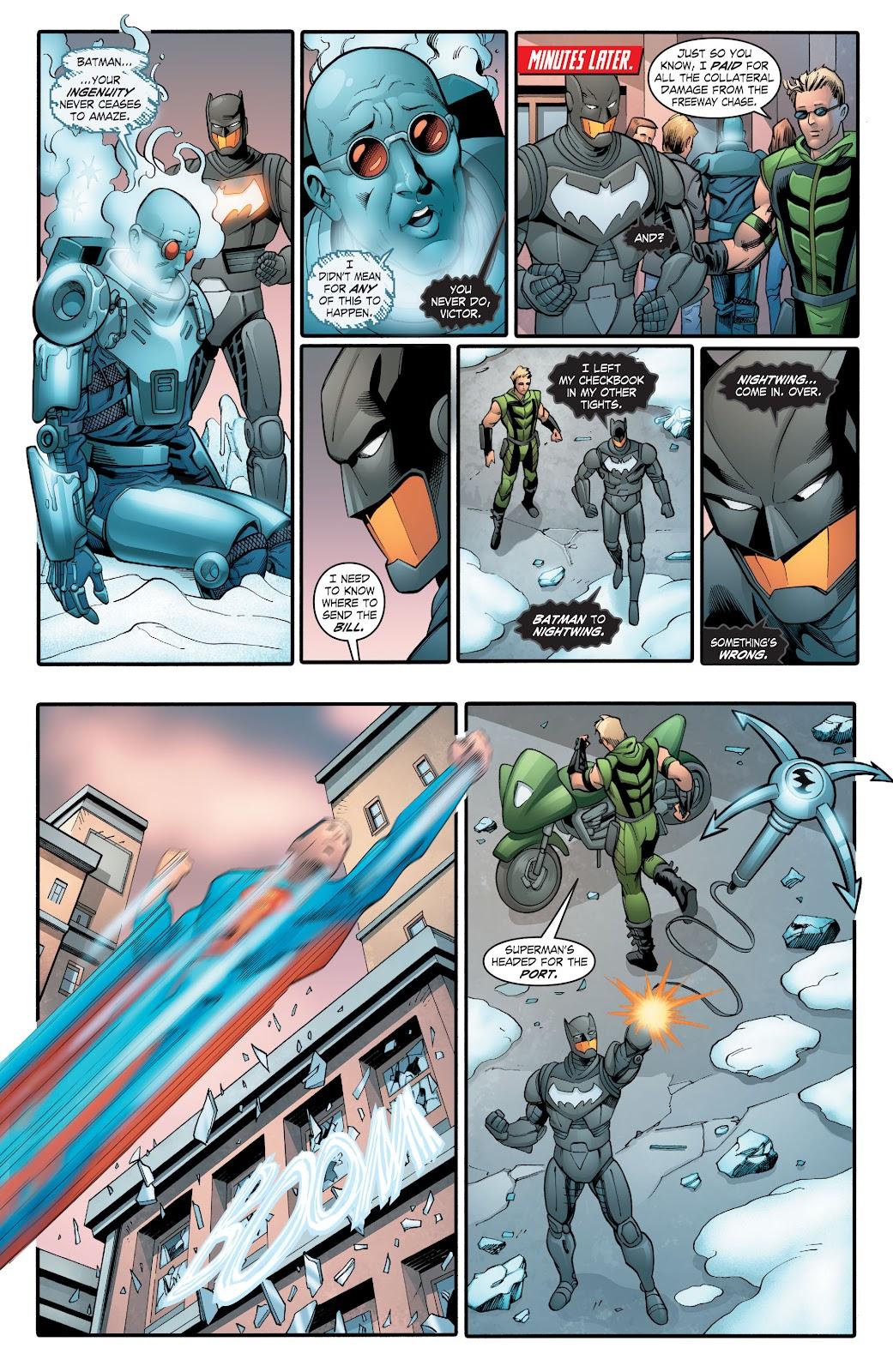 Read online Smallville Season 11 [II] comic -  Issue # TPB 2 - 124