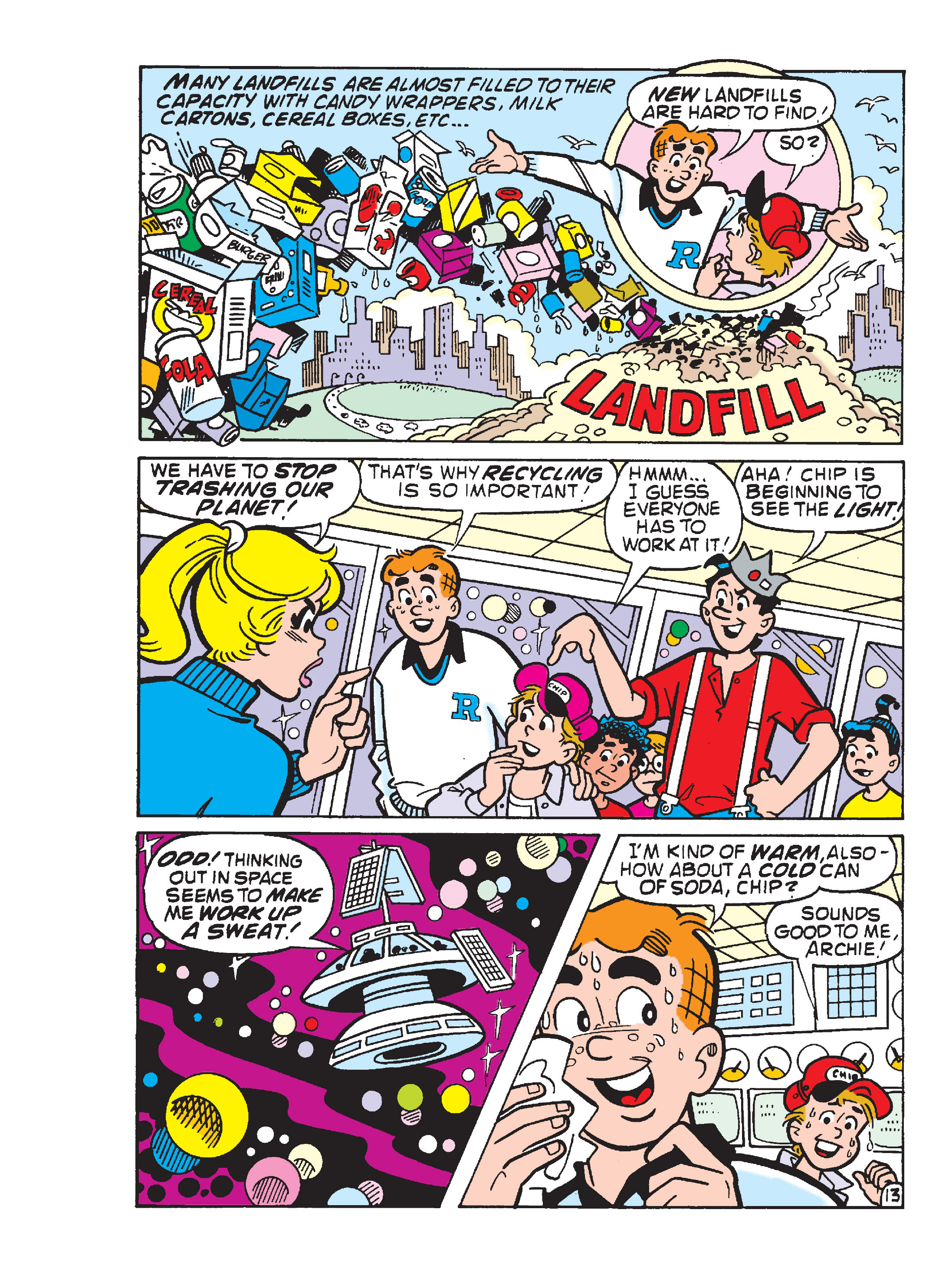 Read online Archie 1000 Page Comics Blowout! comic -  Issue # TPB (Part 4) - 164