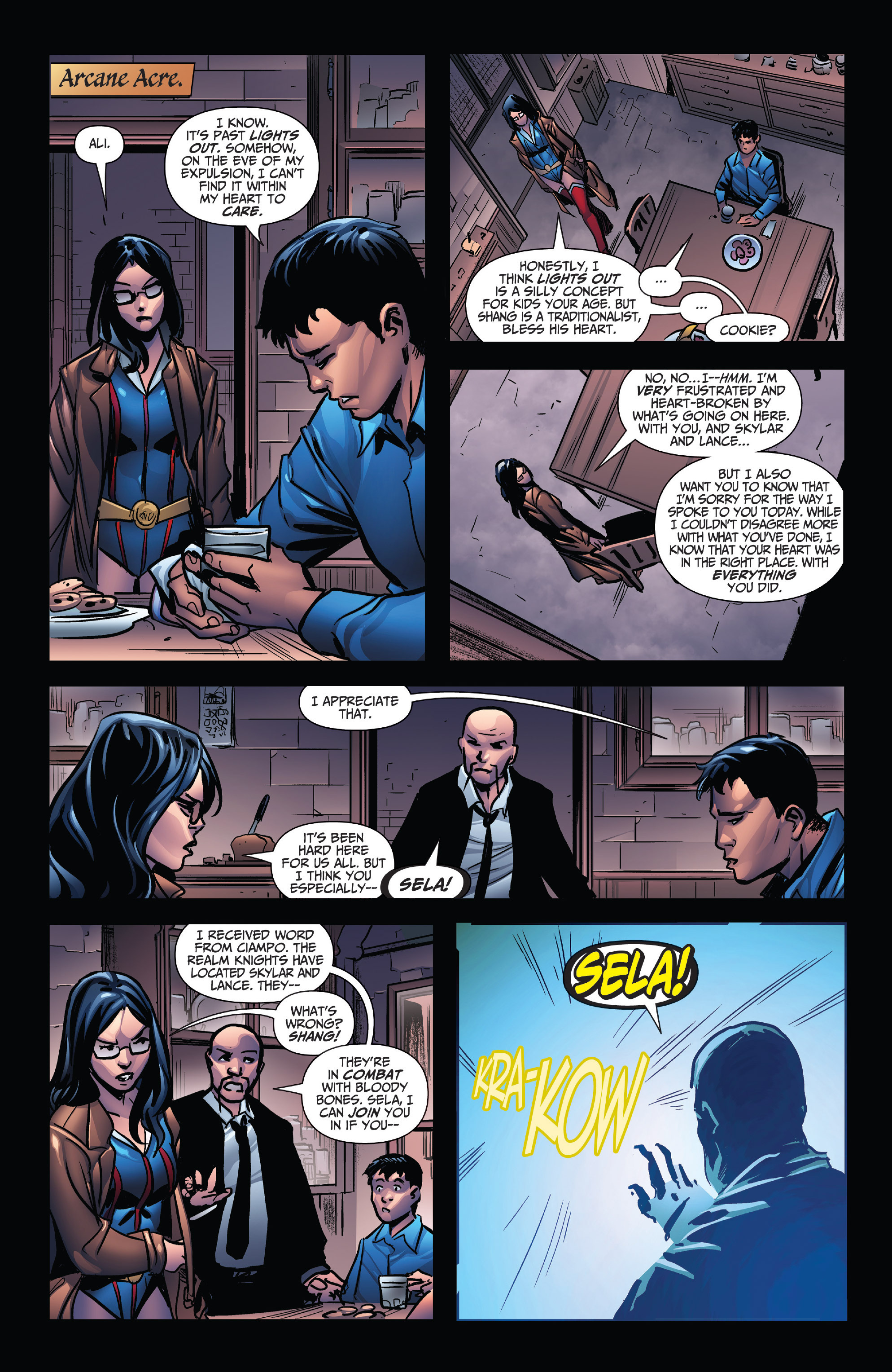 Read online Grimm Fairy Tales: Arcane Acre comic -  Issue # TPB 4 - 61