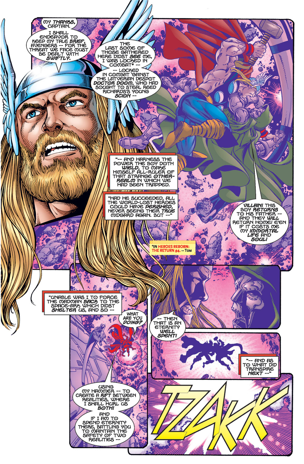 Avengers (1998) issue 1 - Page 21