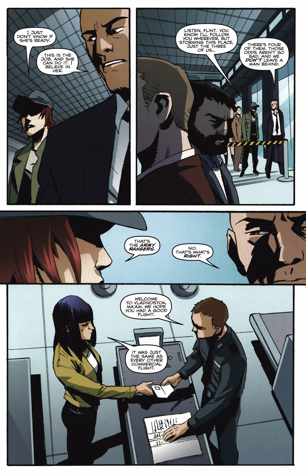 G.I. Joe Cobra (2011) Issue #20 #20 - English 5