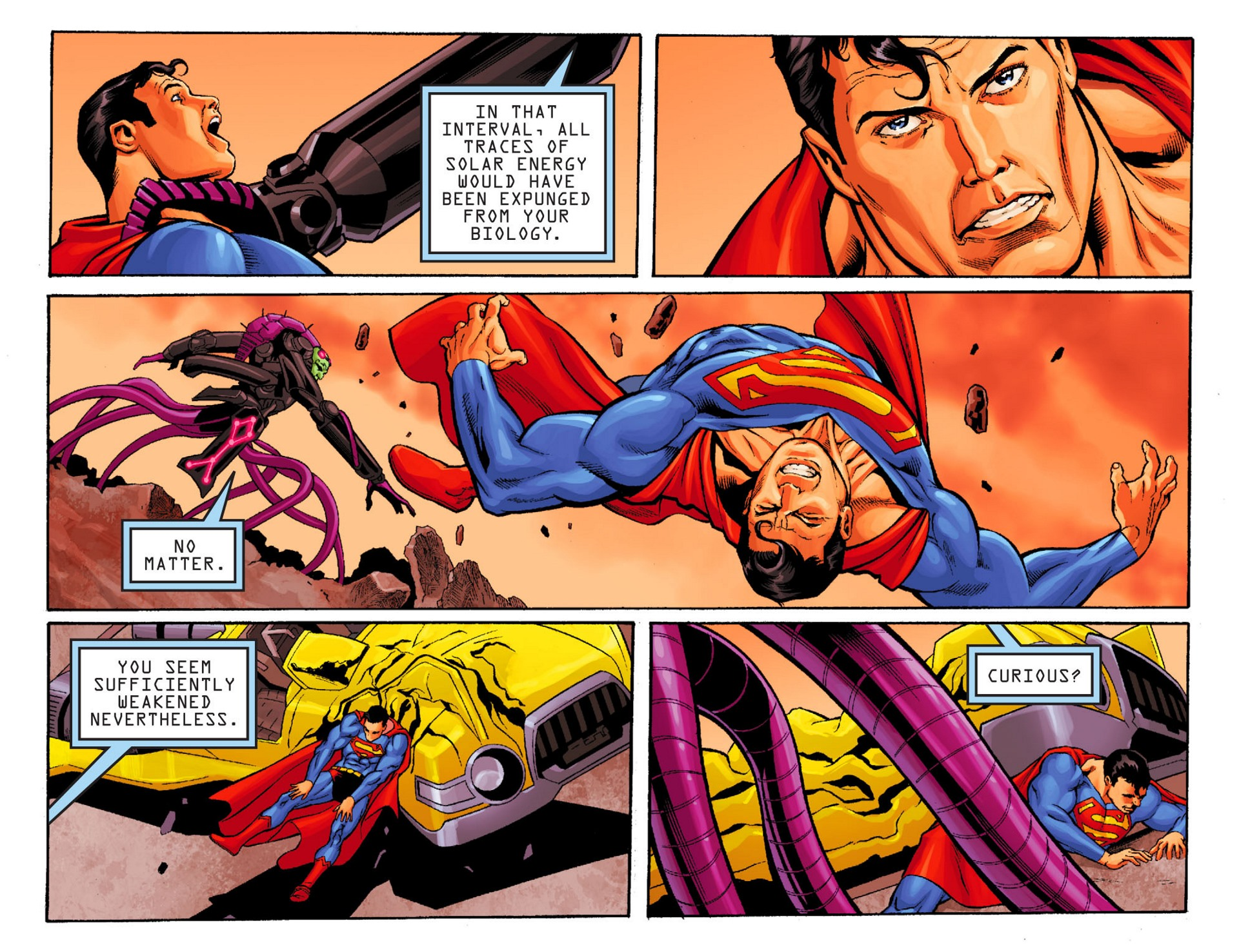 Read online Adventures of Superman [I] comic -  Issue #24 - 8