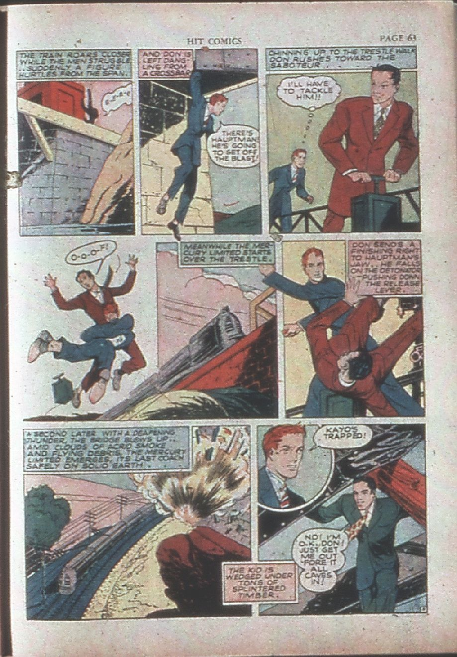 Read online Hit Comics comic -  Issue #15 - 65