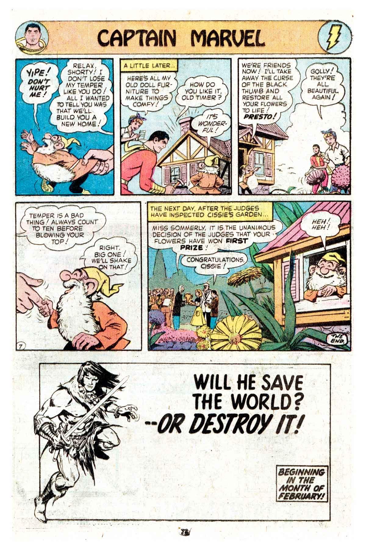 Read online Shazam! (1973) comic -  Issue #17 - 73