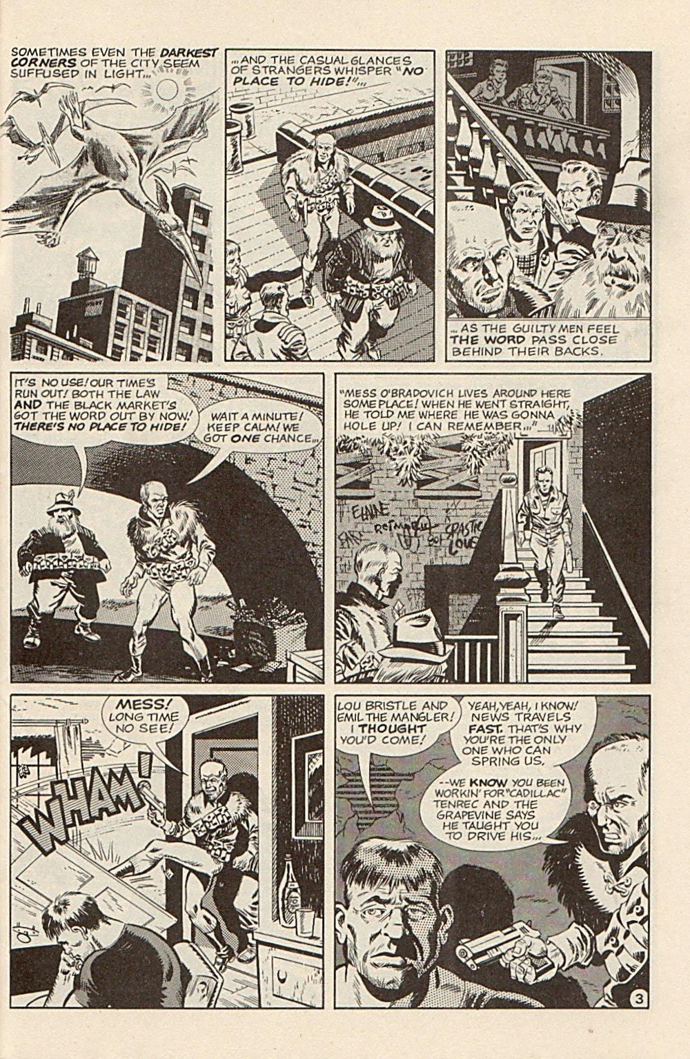 Read online Xenozoic Tales comic -  Issue #3 - 26