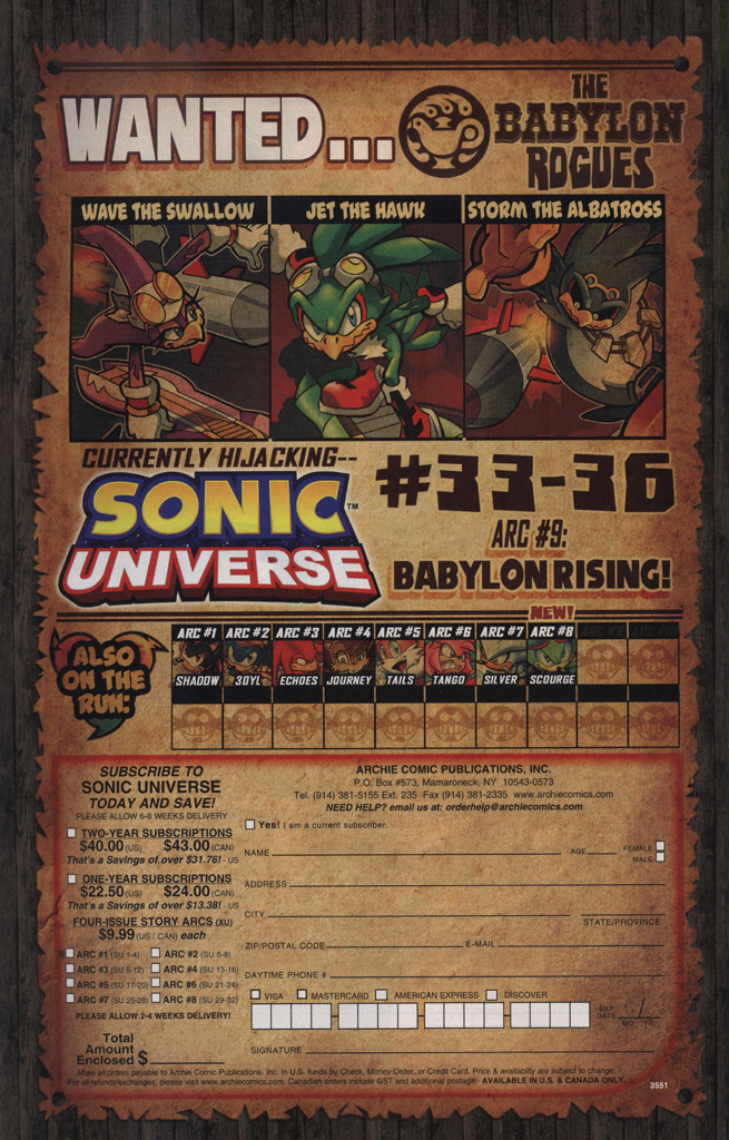 Read online Sonic Universe comic -  Issue #33 - 8