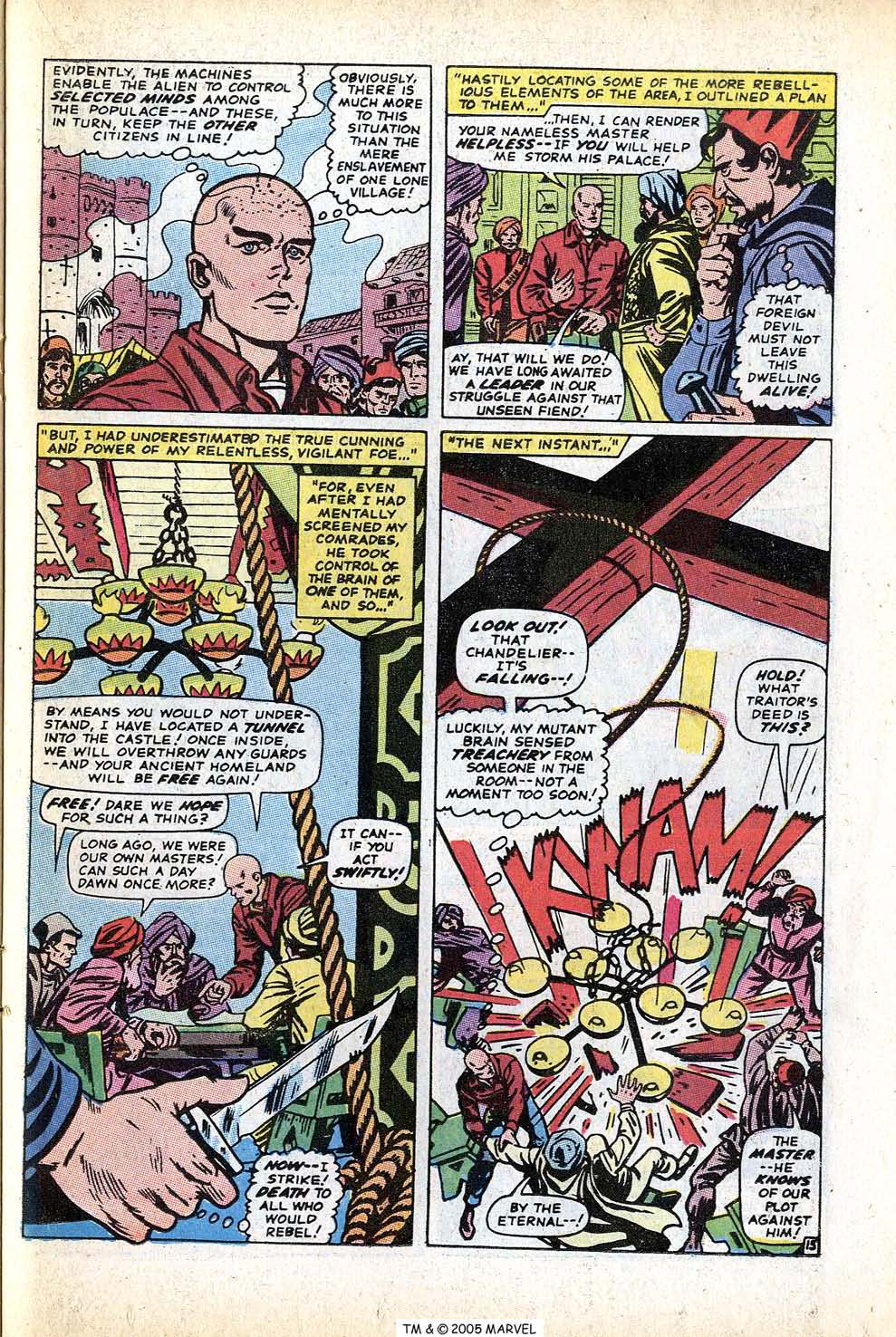 Uncanny X-Men (1963) issue 71 - Page 23