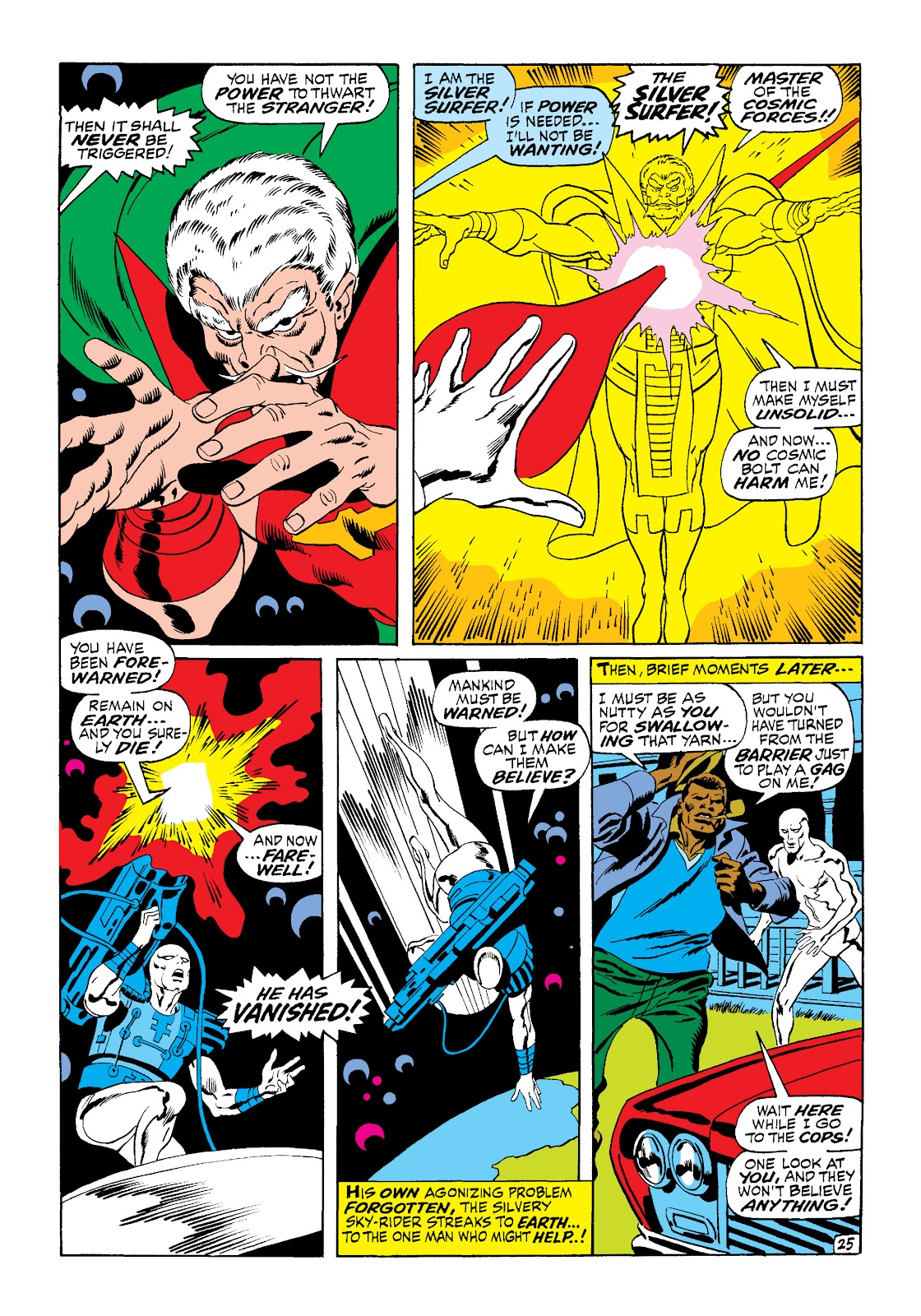 Read online Marvel Masterworks: The Silver Surfer comic - Issue # TPB 1 (Part 2) - 93