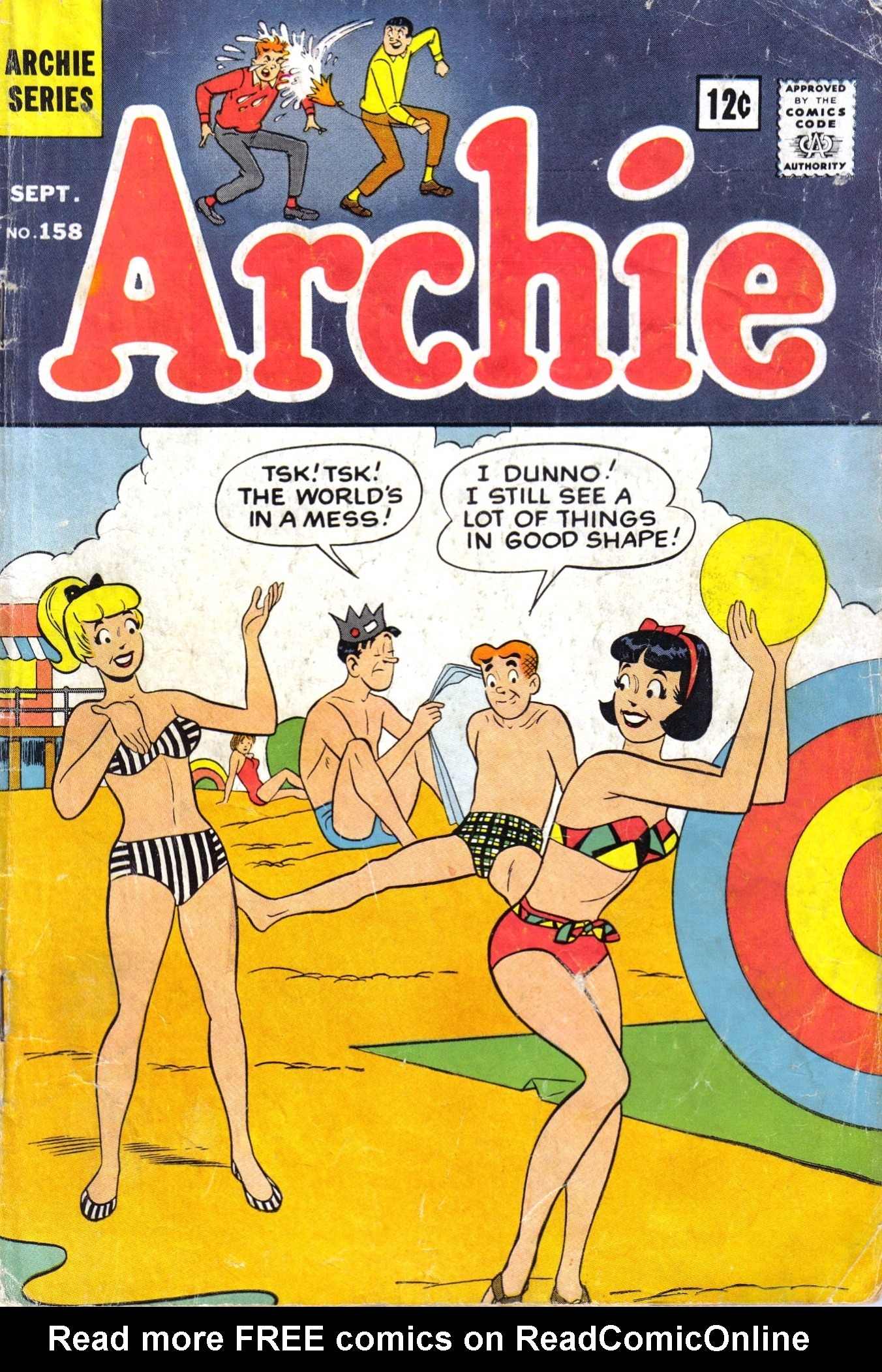 Read online Archie (1960) comic -  Issue #158 - 1
