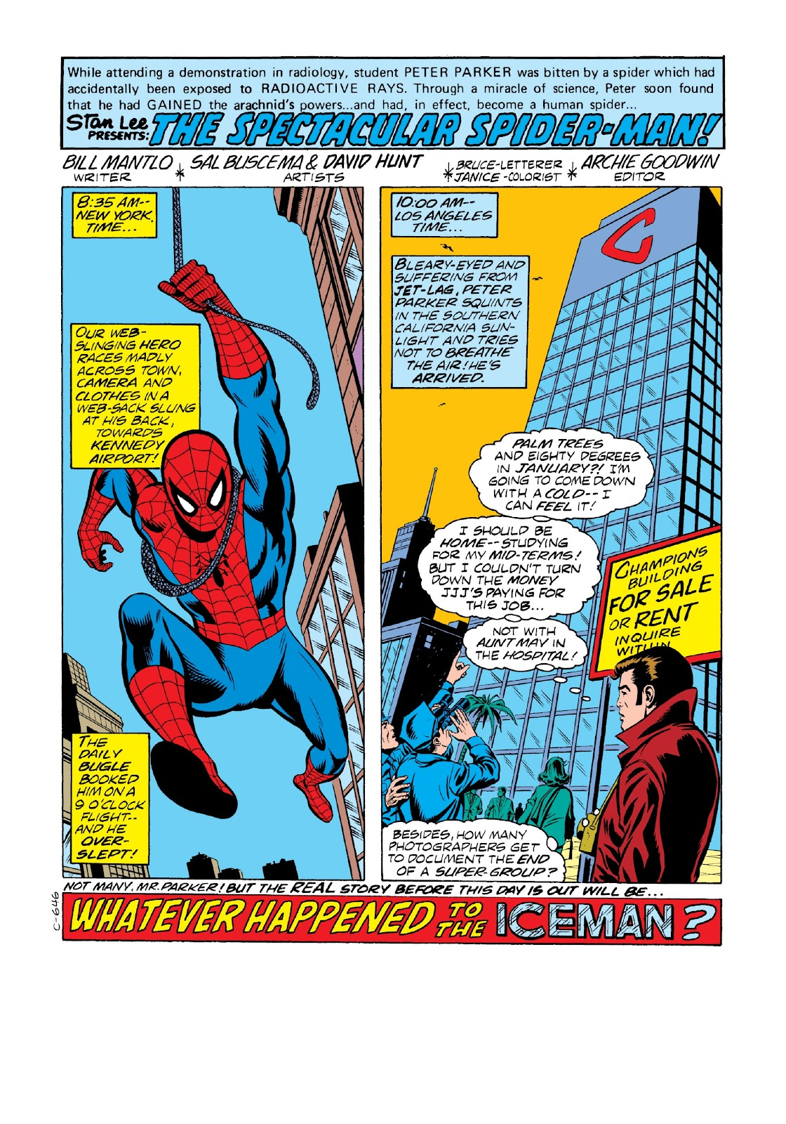 Read online Marvel Masterworks: The Spectacular Spider-Man comic -  Issue # TPB 2 (Part 1) - 28