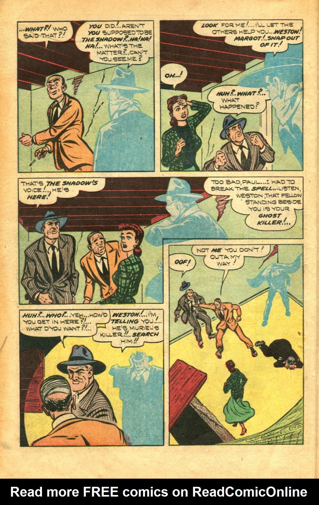 Read online Shadow Comics comic -  Issue #91 - 14