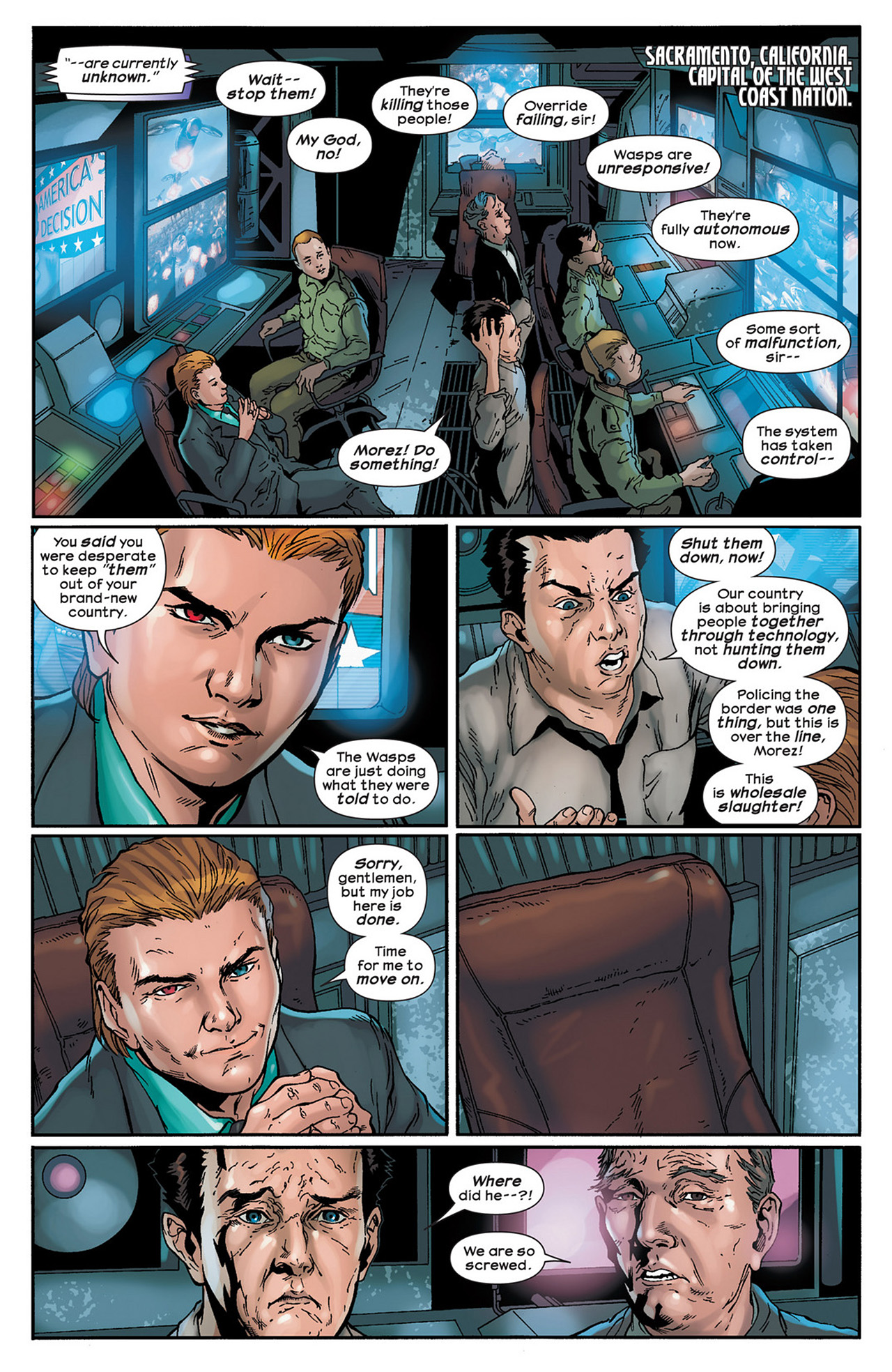 Read online Ultimate Comics Ultimates comic -  Issue #15 - 12