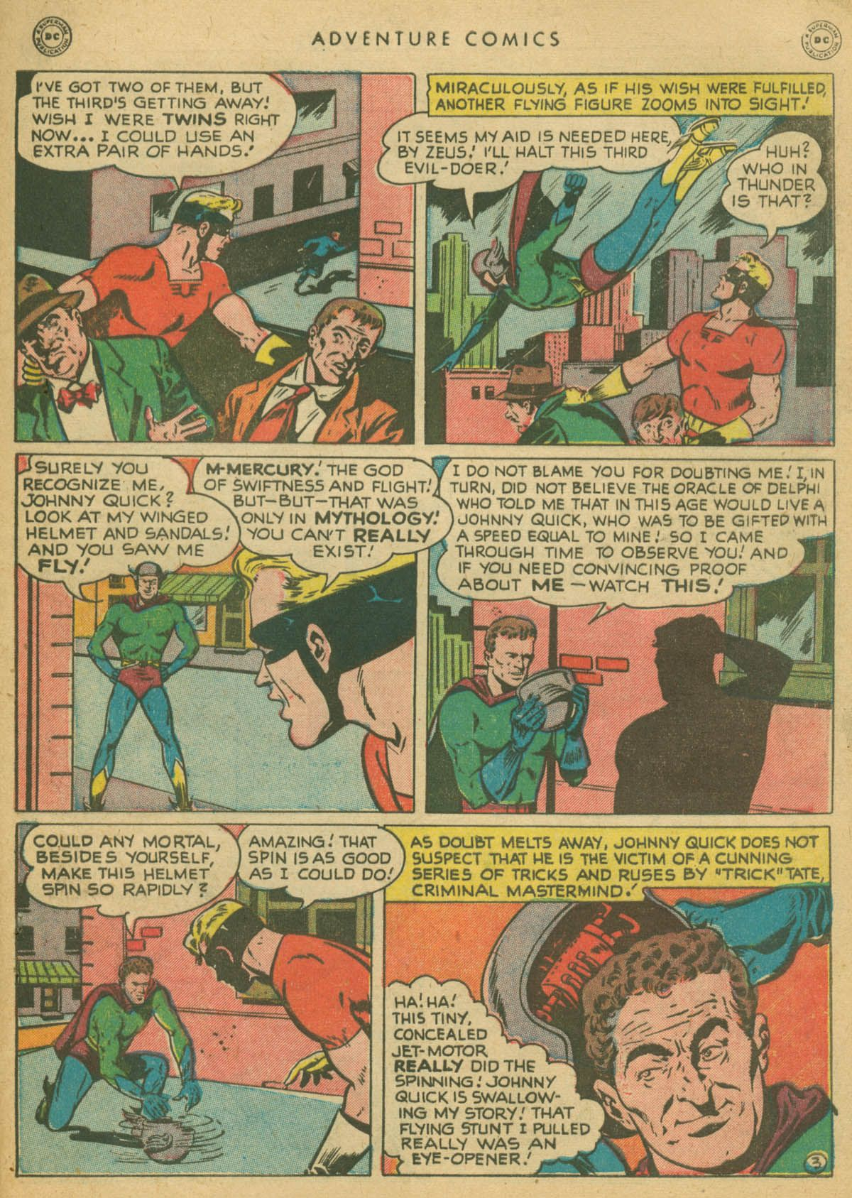 Read online Adventure Comics (1938) comic -  Issue #142 - 42
