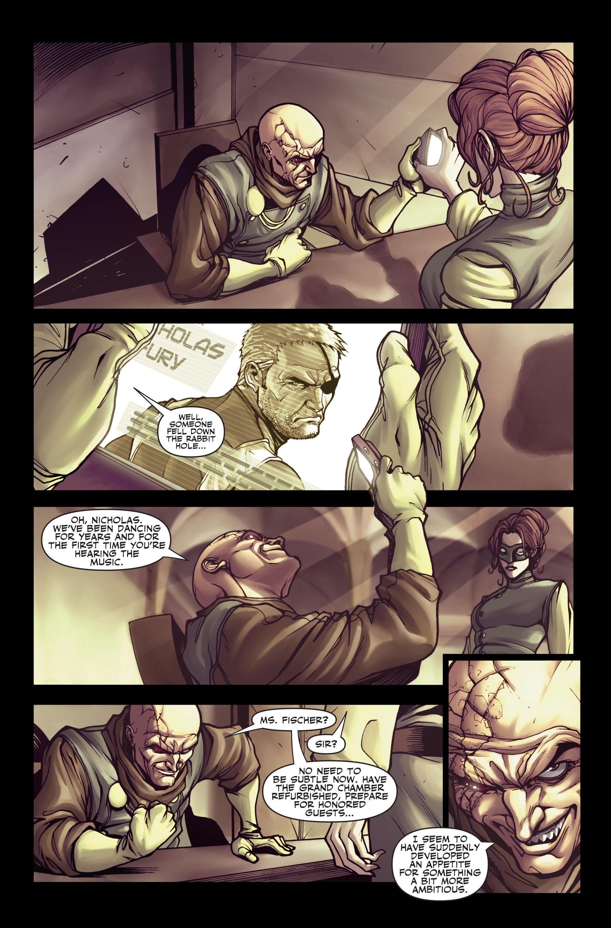 Read online Secret Warriors comic -  Issue #2 - 12