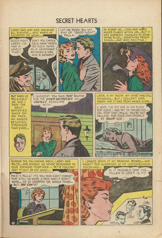 Read online Secret Hearts comic -  Issue #14 - 21