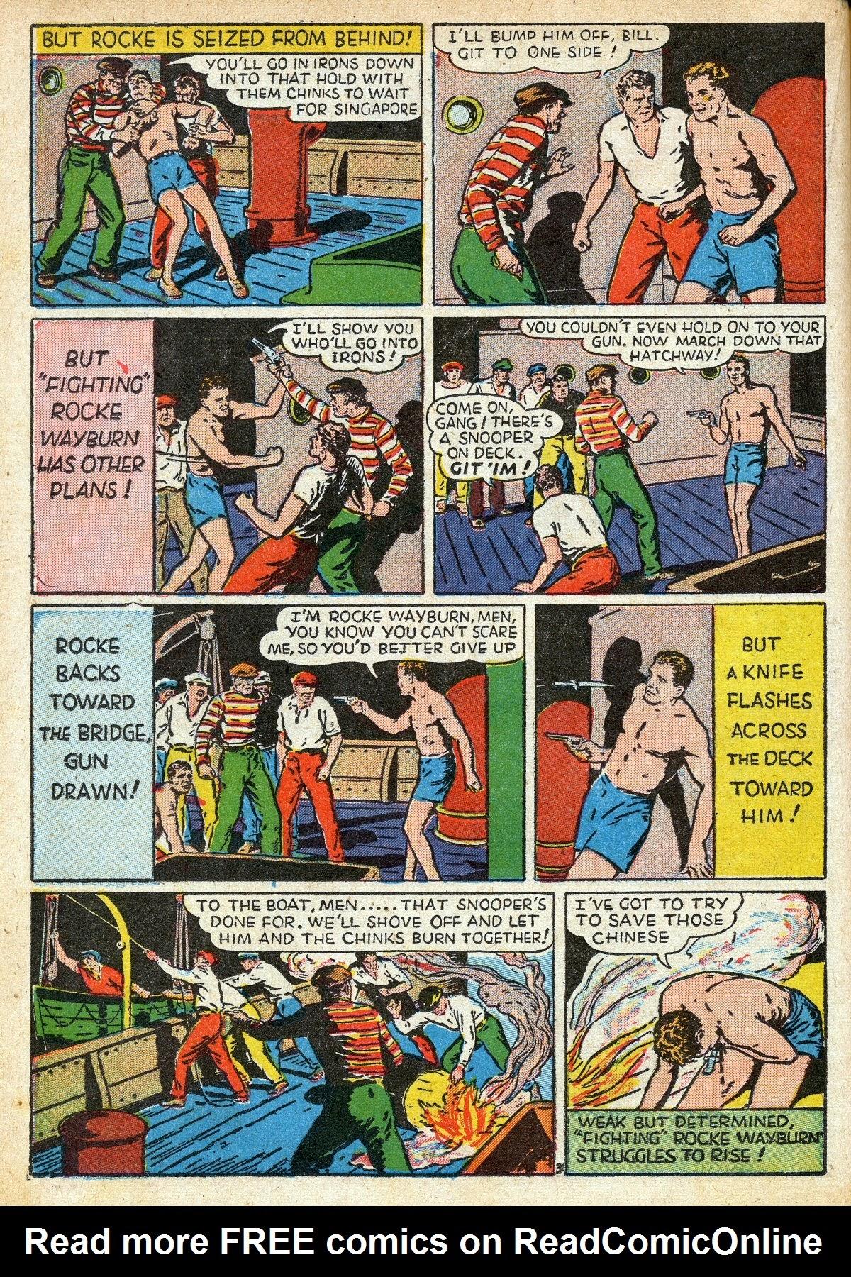 Read online Amazing Man Comics comic -  Issue #16 - 32