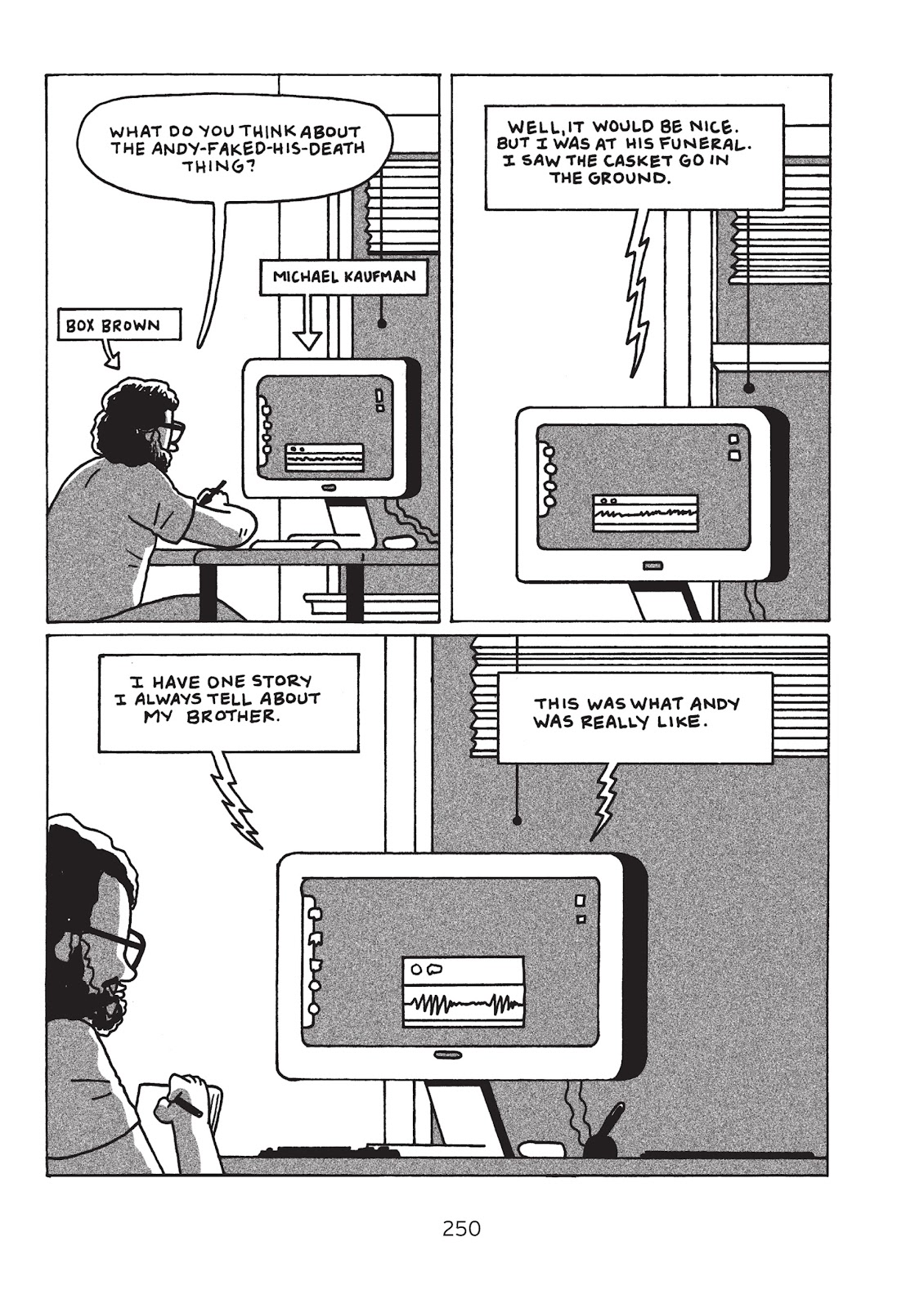 Read online Is This Guy For Real?: The Unbelievable Andy Kaufman comic -  Issue # TPB (Part 3) - 55