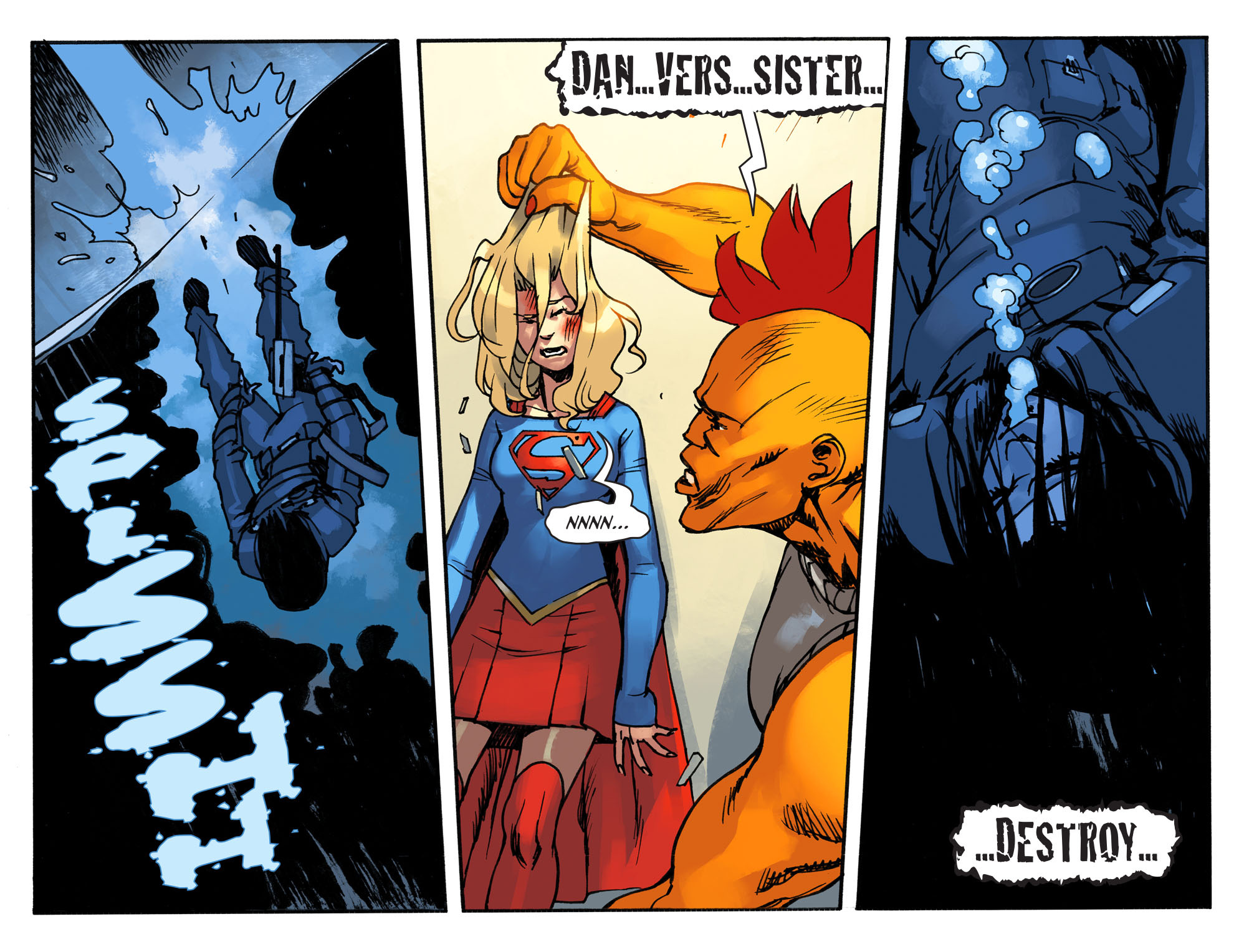 Read online Adventures of Supergirl comic -  Issue #2 - 20