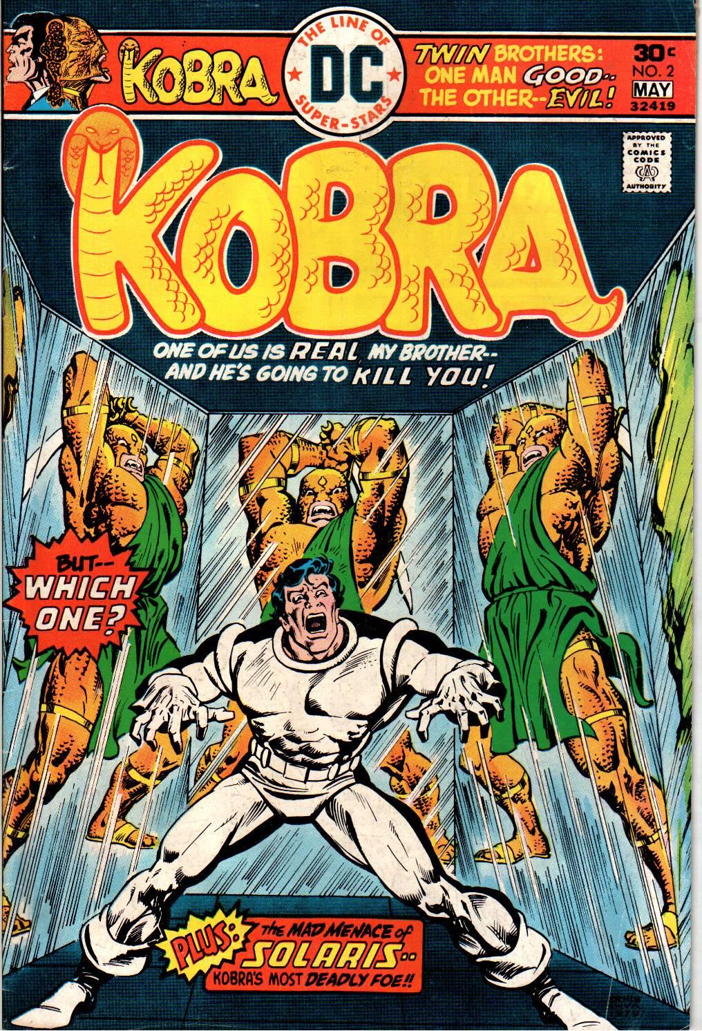 Kobra issue 2 - Page 1
