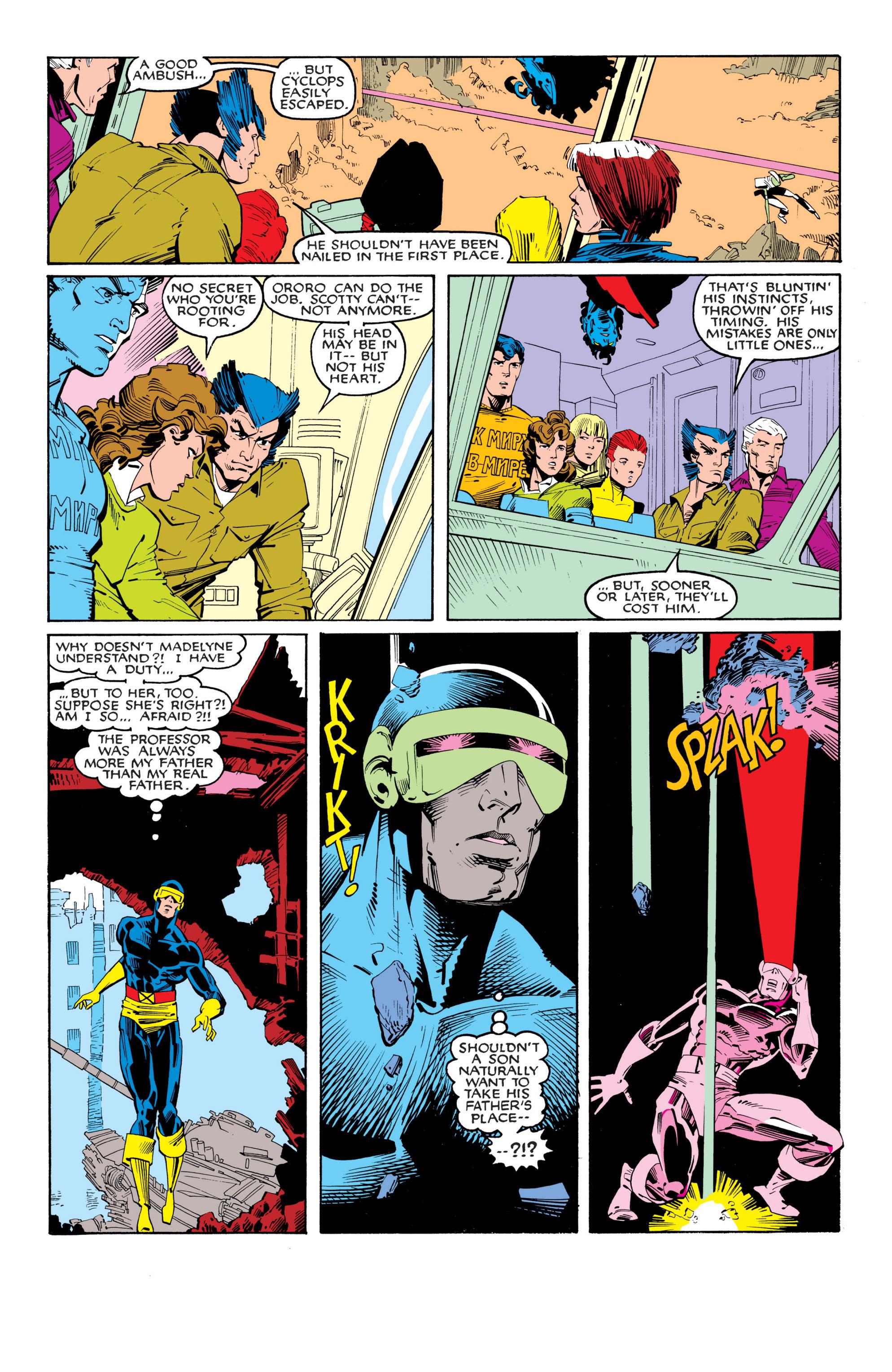 Read online Uncanny X-Men (1963) comic -  Issue #201 - 19