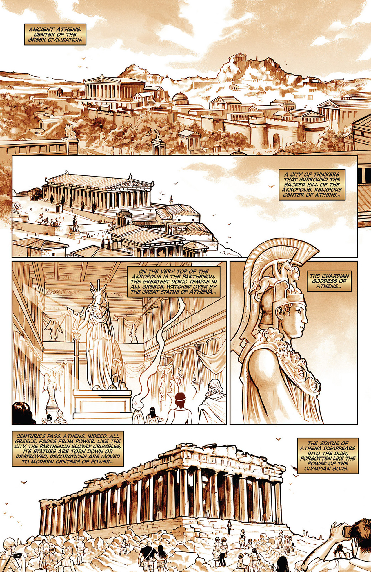 Read online Athena comic -  Issue #1 - 6