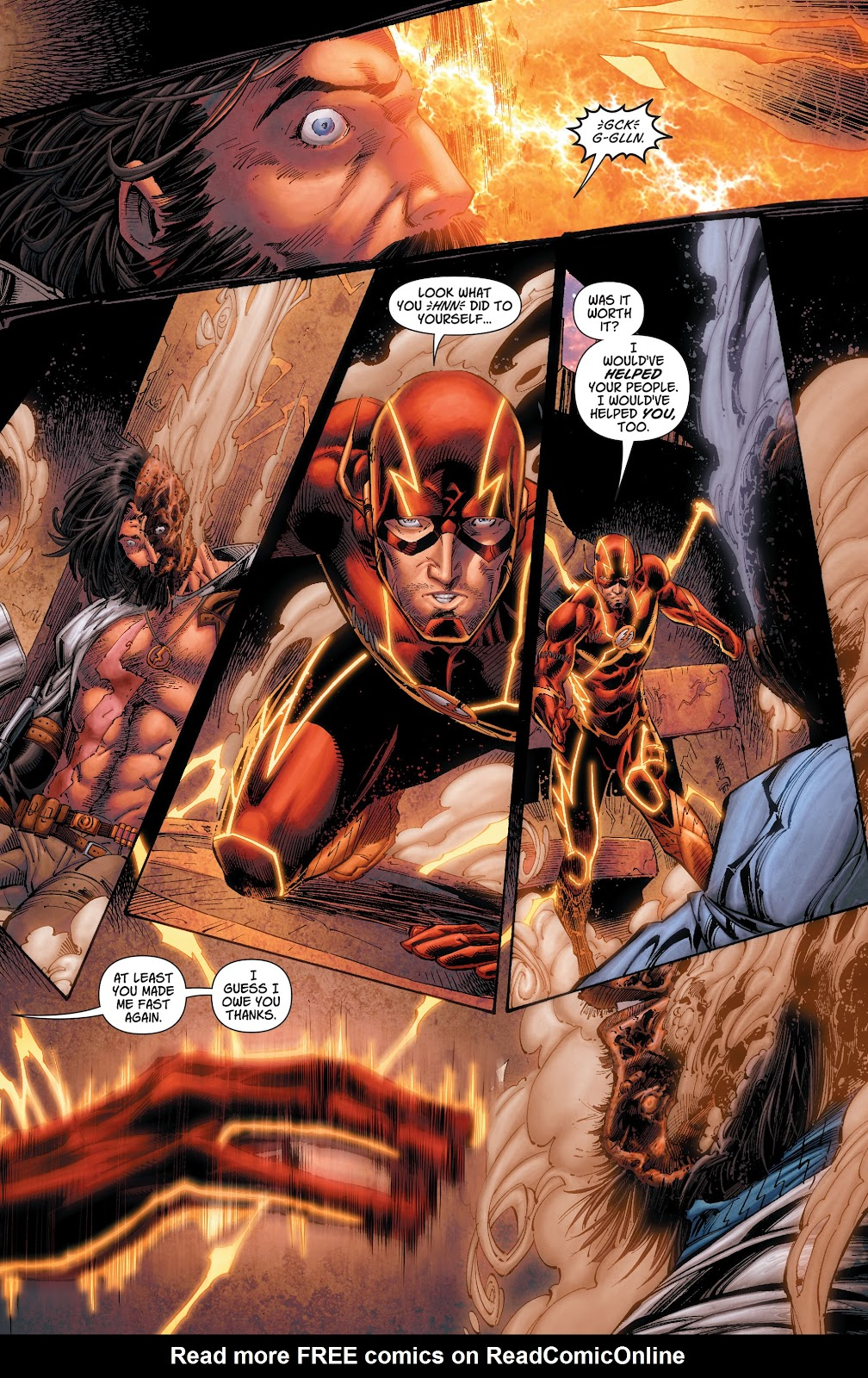 Read online The Flash (2011) comic -  Issue # _TPB 7 - 106
