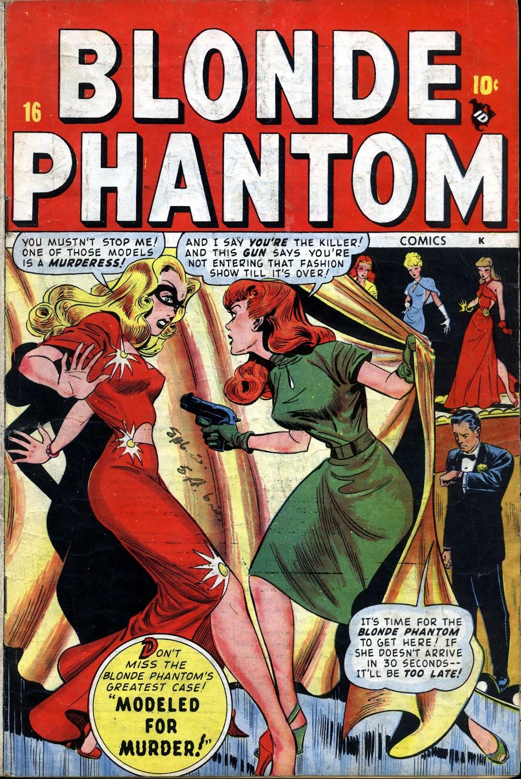 Blonde Phantom Comics 16 Page 1