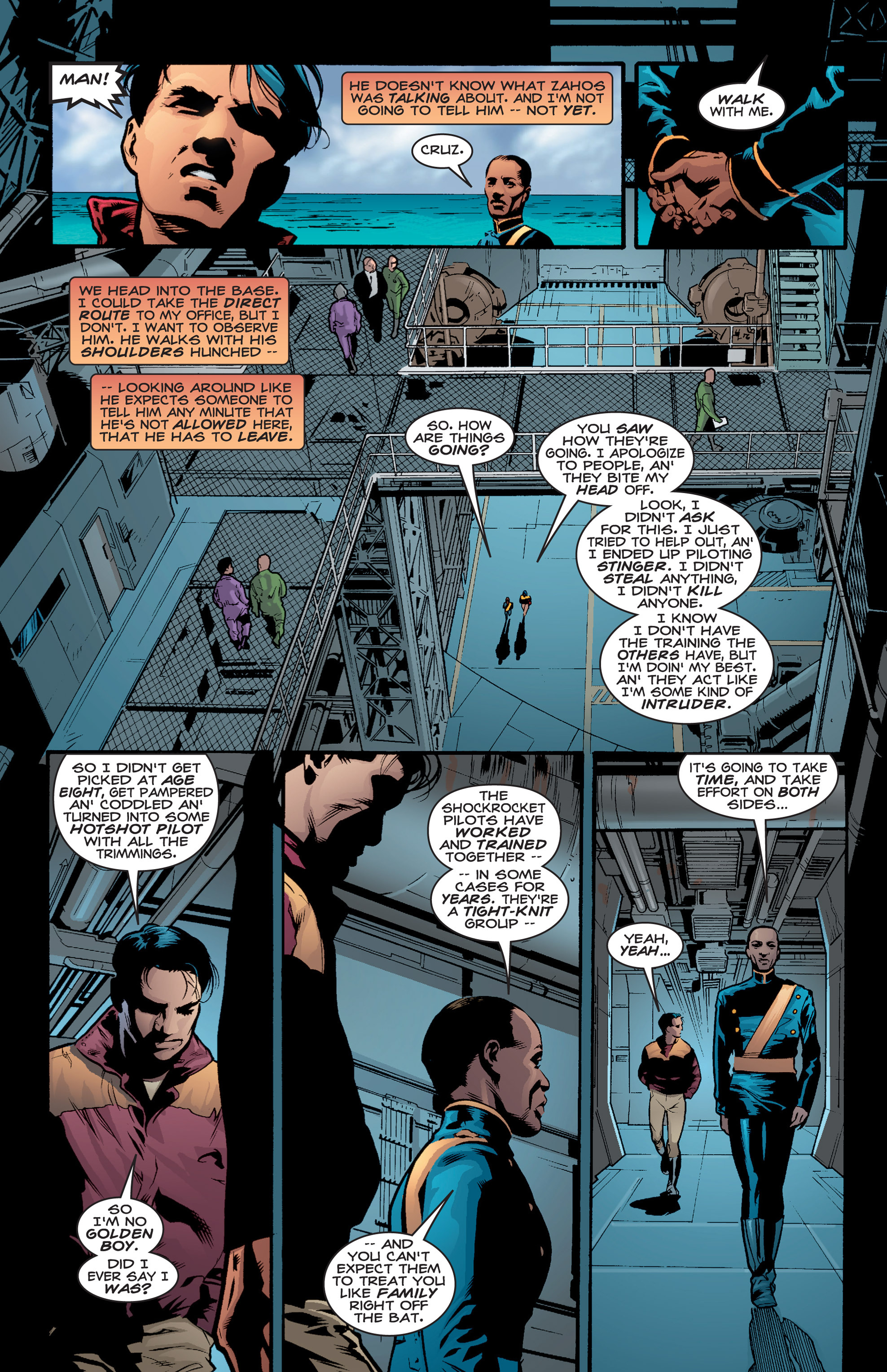 Read online Shockrockets comic -  Issue # TPB - 38