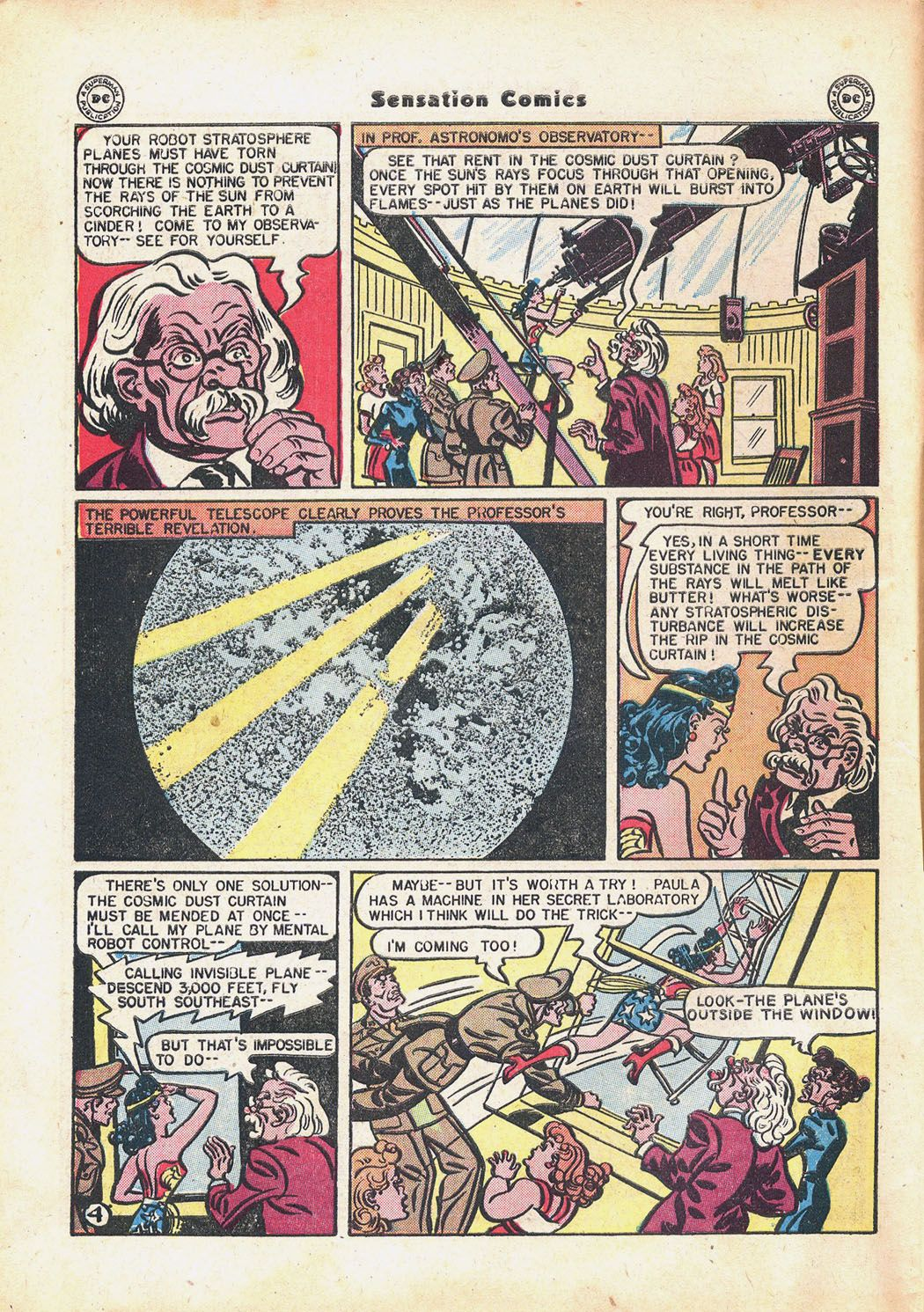 Read online Sensation (Mystery) Comics comic -  Issue #71 - 6